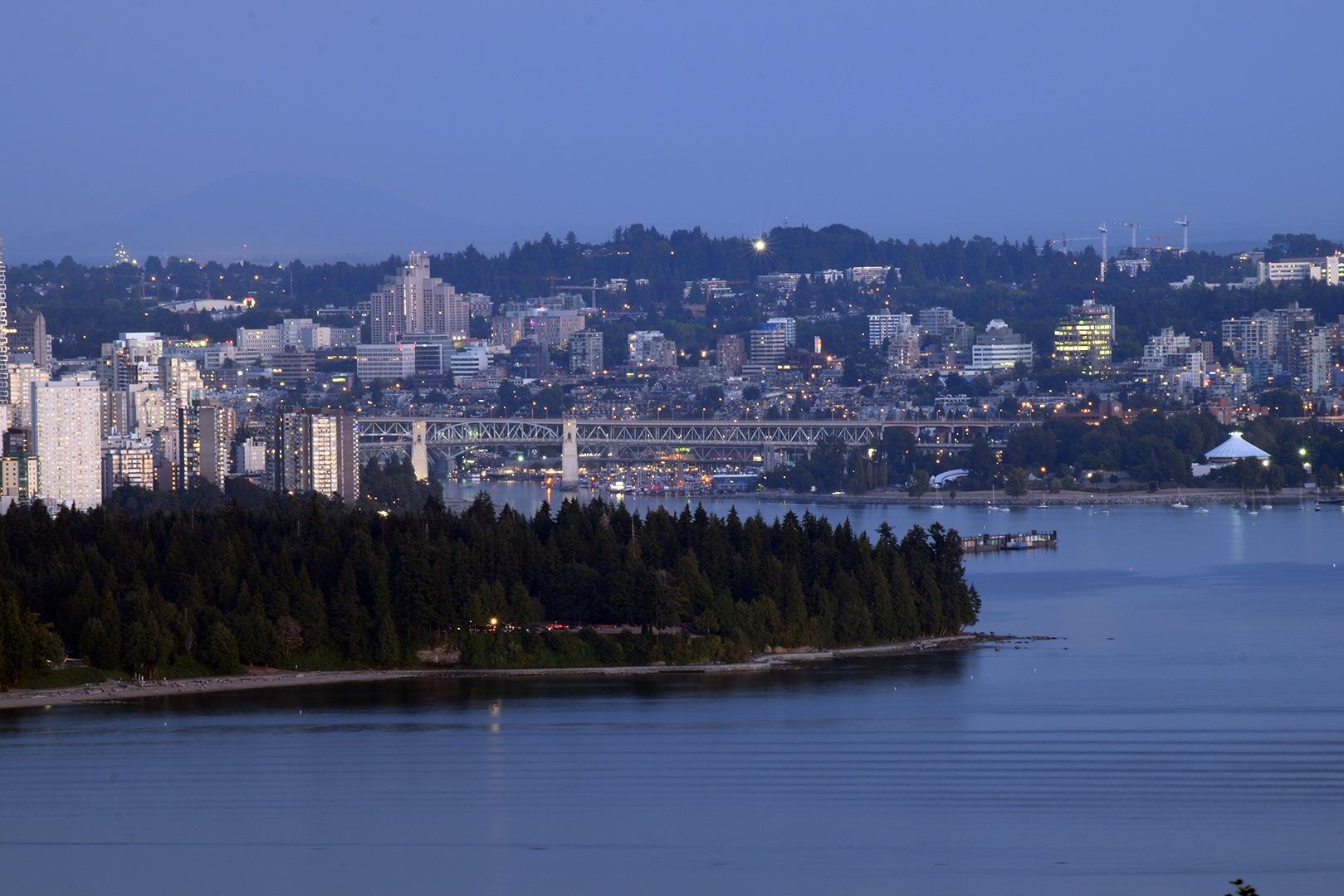 Vancouver, BC Canada Burrard Bridge, Stanley Park, English Bay by #gregozphotos