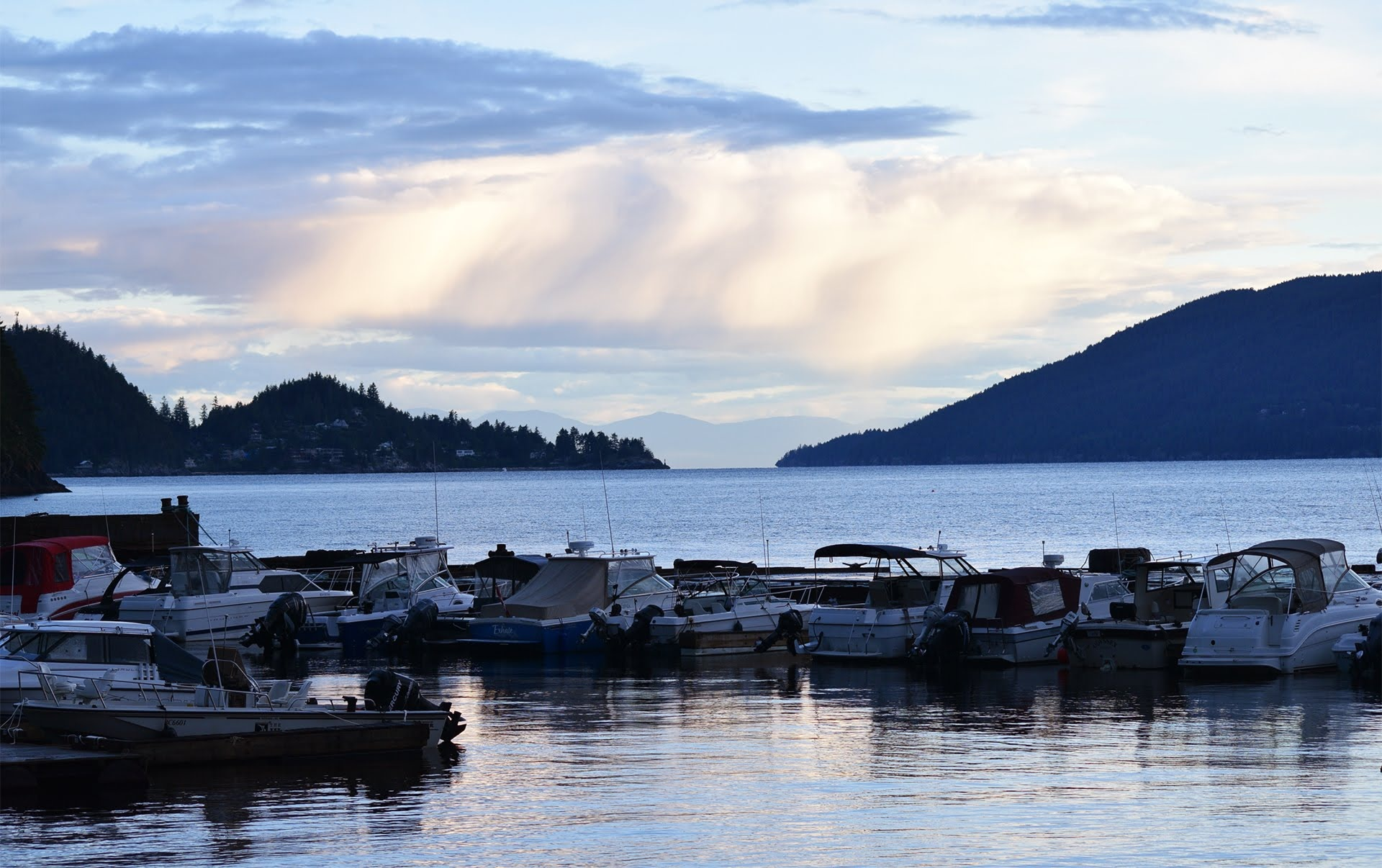 Sunset Marina, BC Canada  by #gregozphotos