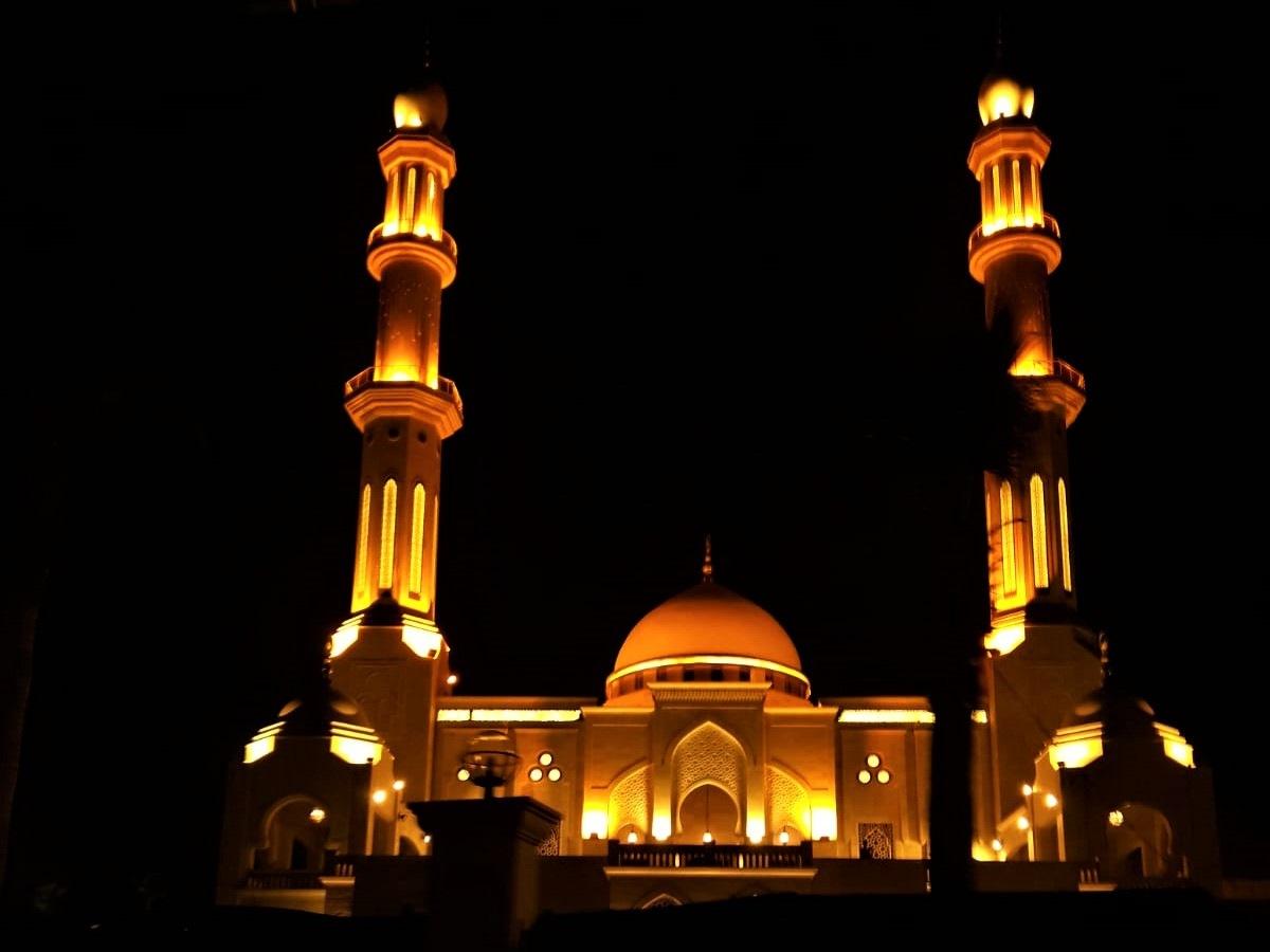 Mosque of Gaza Port by AyaFouad