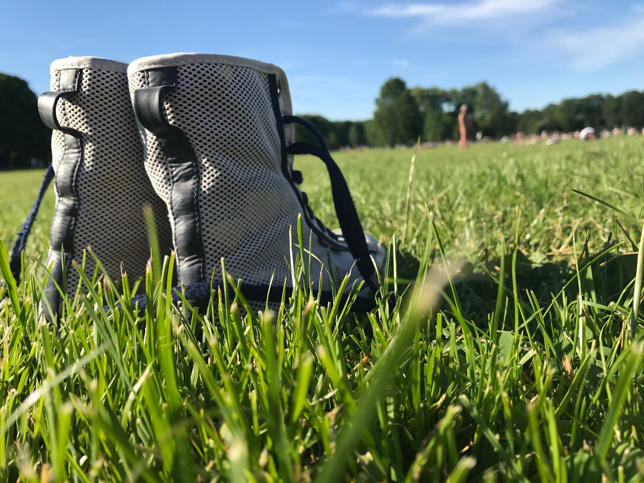 Green Grass and Adidas by Jäzzmin C.