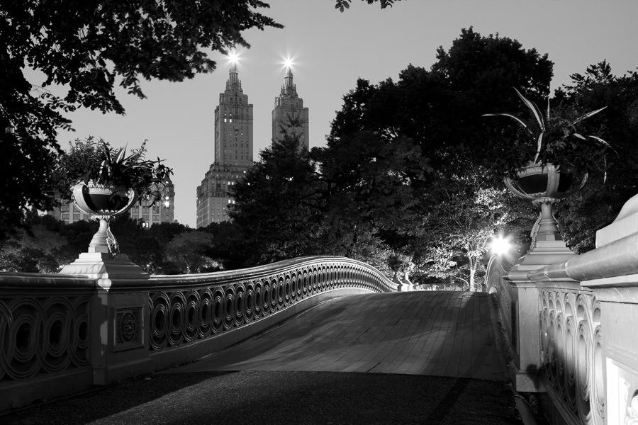 Bow Bridge, Central Park by James Maher