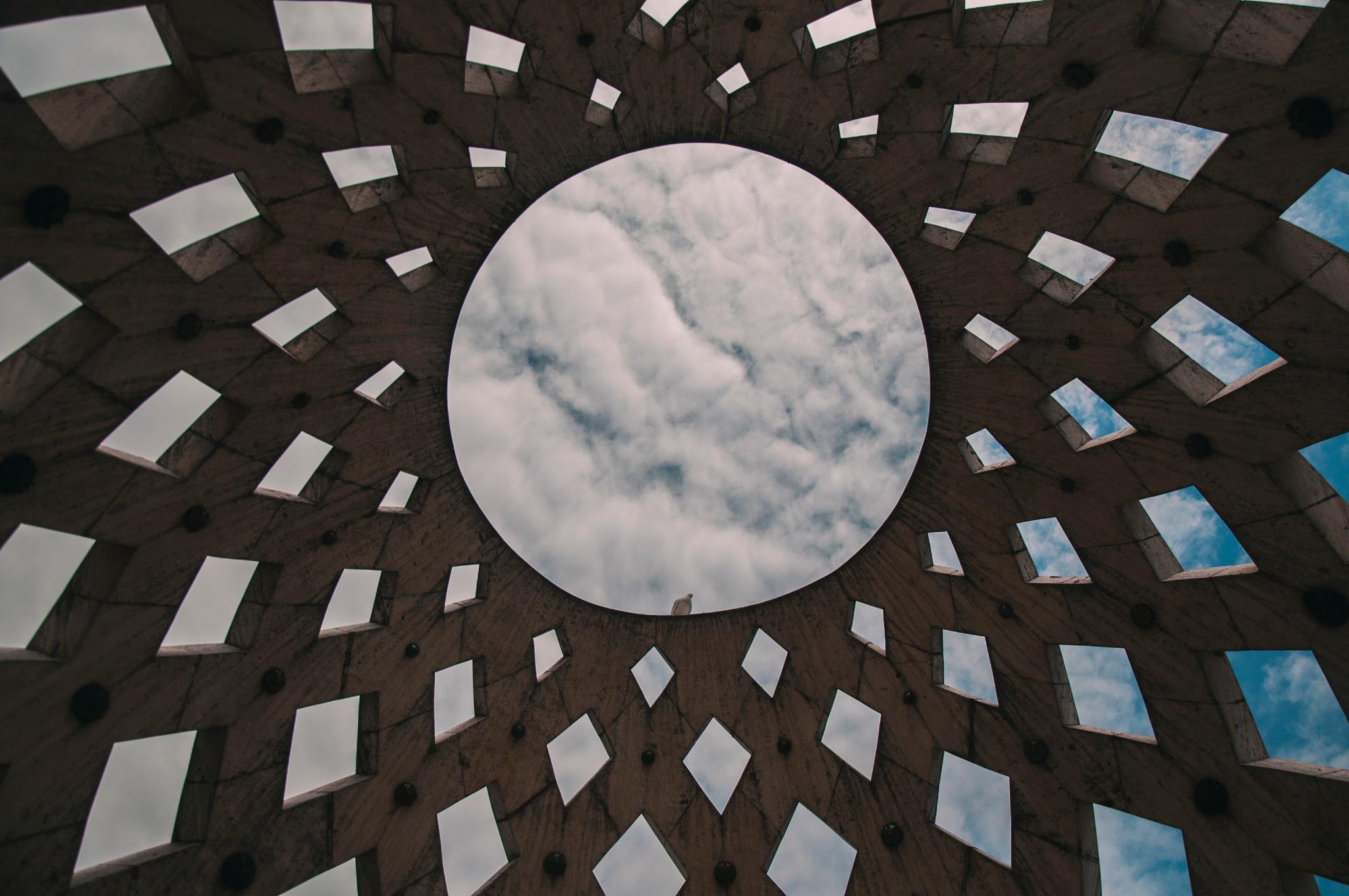 View on the sky by Oleksandr Albov