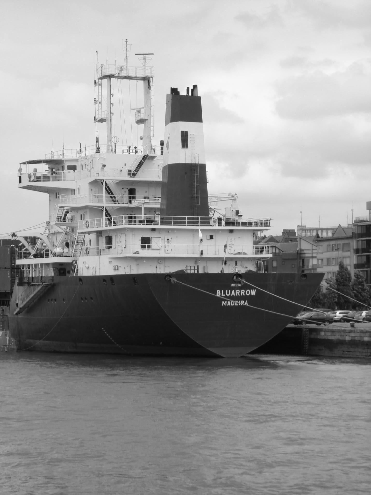 Antwerp, Belgium port of Antwerp, a boat from Portugal by Rosario Di Rubbo