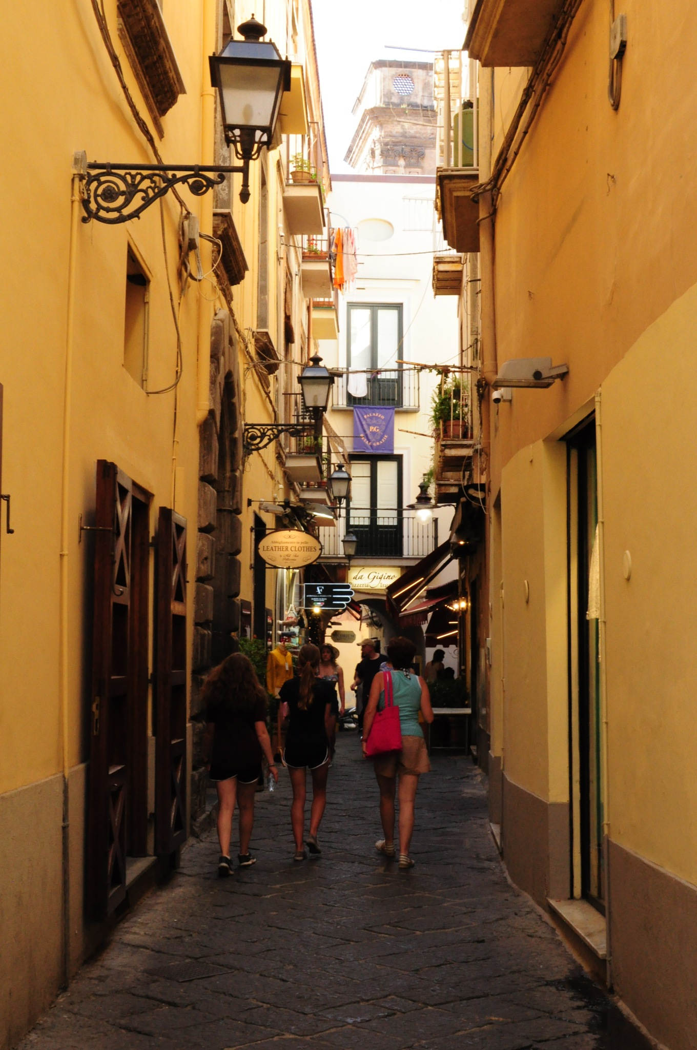 One pitoresque street. Sorrento by Rosario Di Rubbo