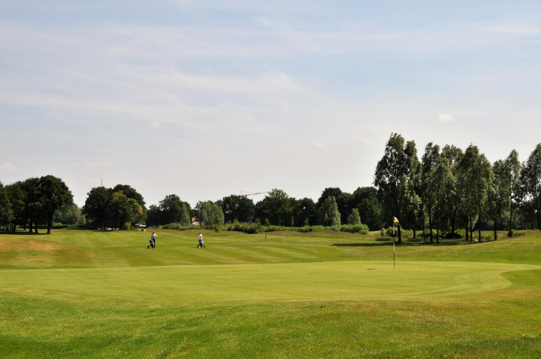 Millennium Golf Club Paal, Limburg, Belgium. Pebble beach Court by Rosario Di Rubbo