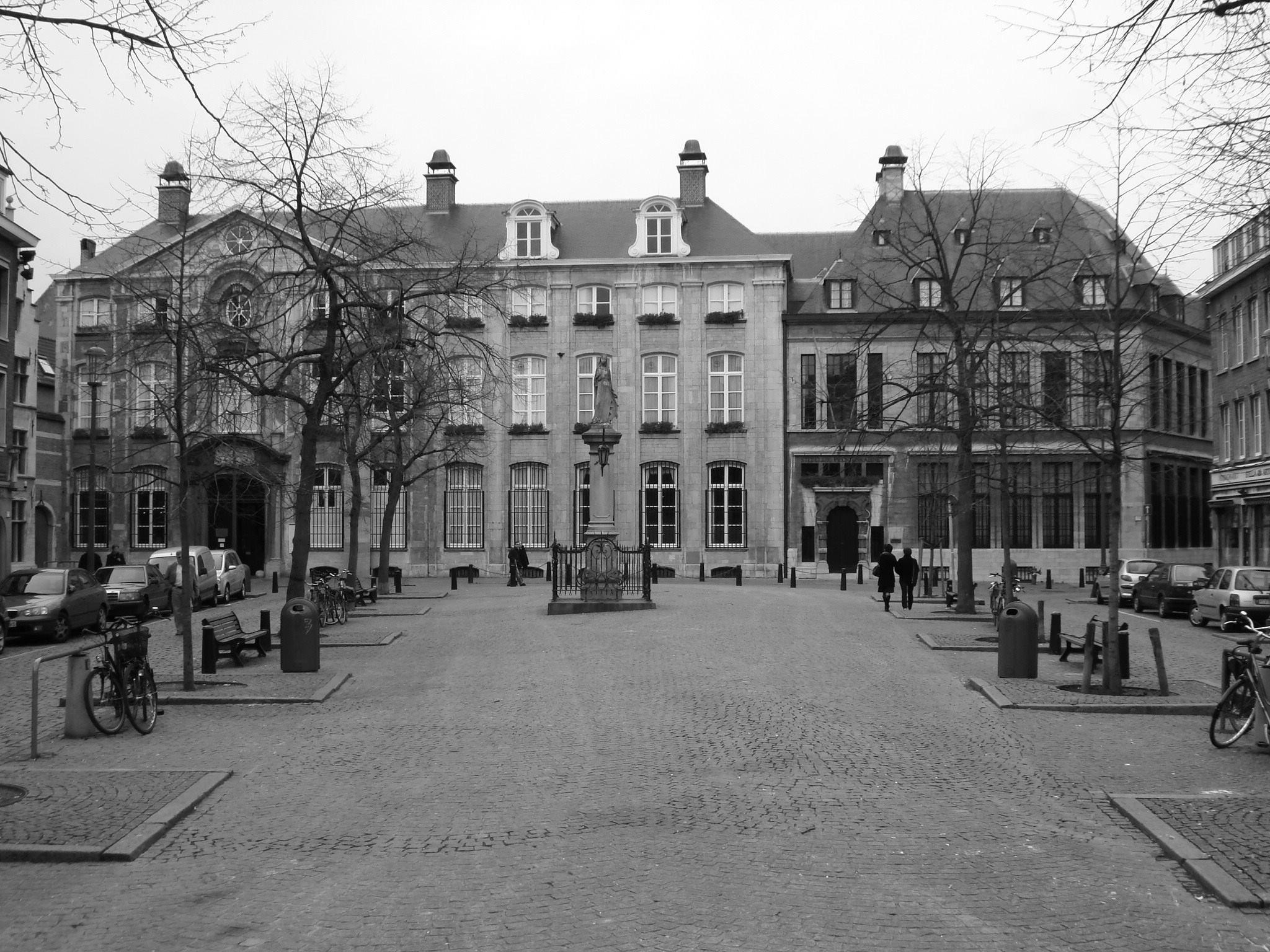 Antwerp, Belgium Vrijdagmarkt (the friday market square) by Rosario Di Rubbo