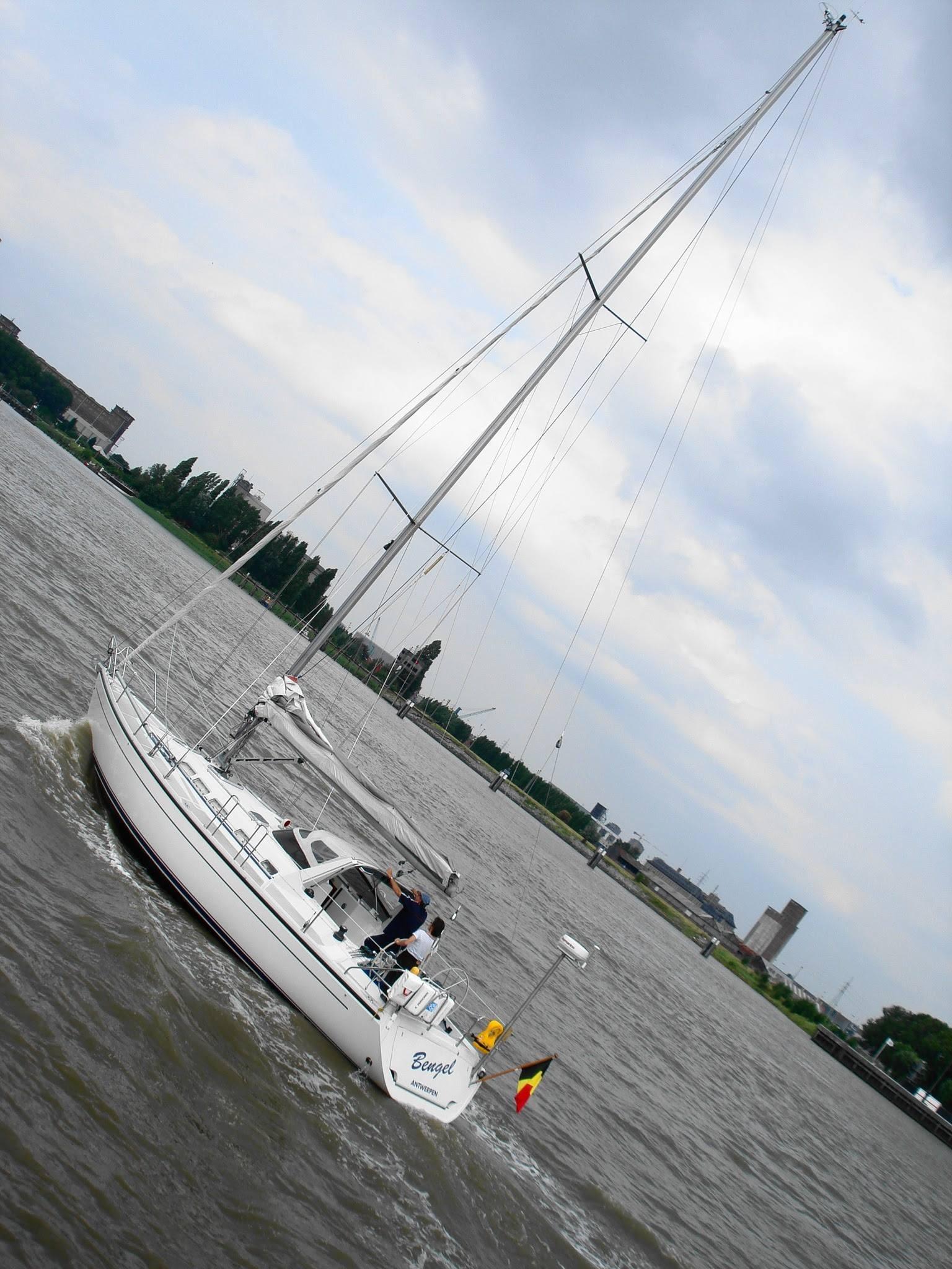 Antwerp, Belgium sailing 4 by Rosario Di Rubbo