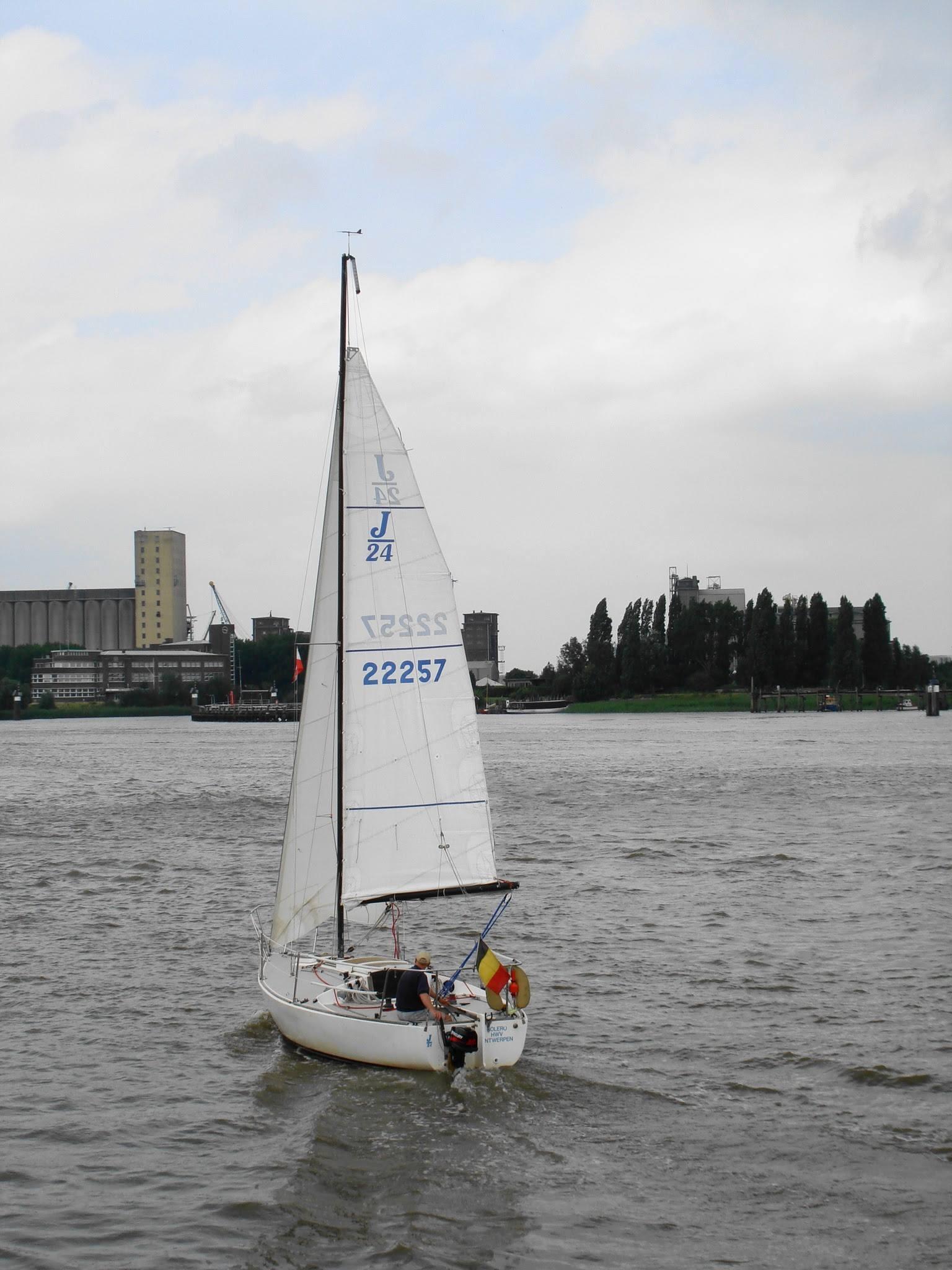 Antwerp, Belgium sailing 2 by Rosario Di Rubbo