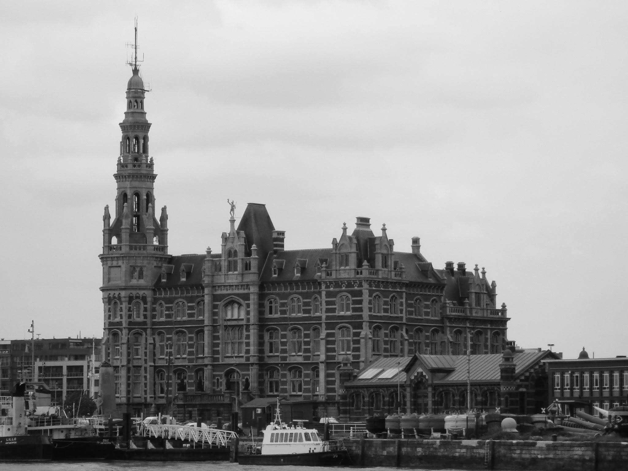 Antwerp, Belgium De Loodsen, old port building by Rosario Di Rubbo