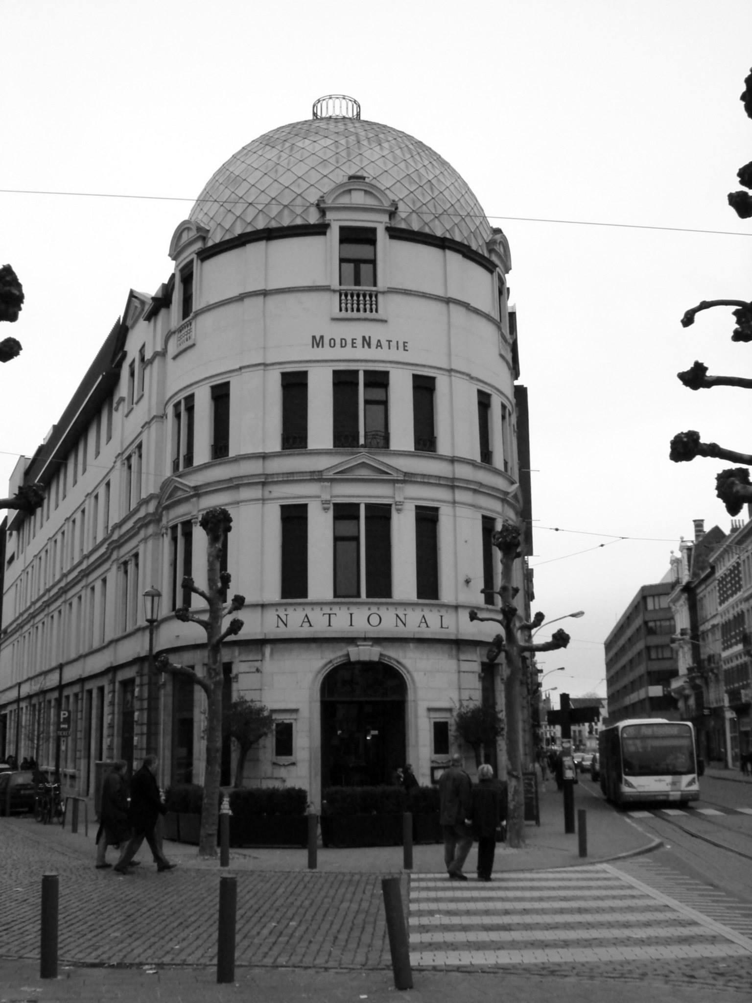 Antwerp, Belgium Antwerp Mode Museum building in the mode district of the city by Rosario Di Rubbo