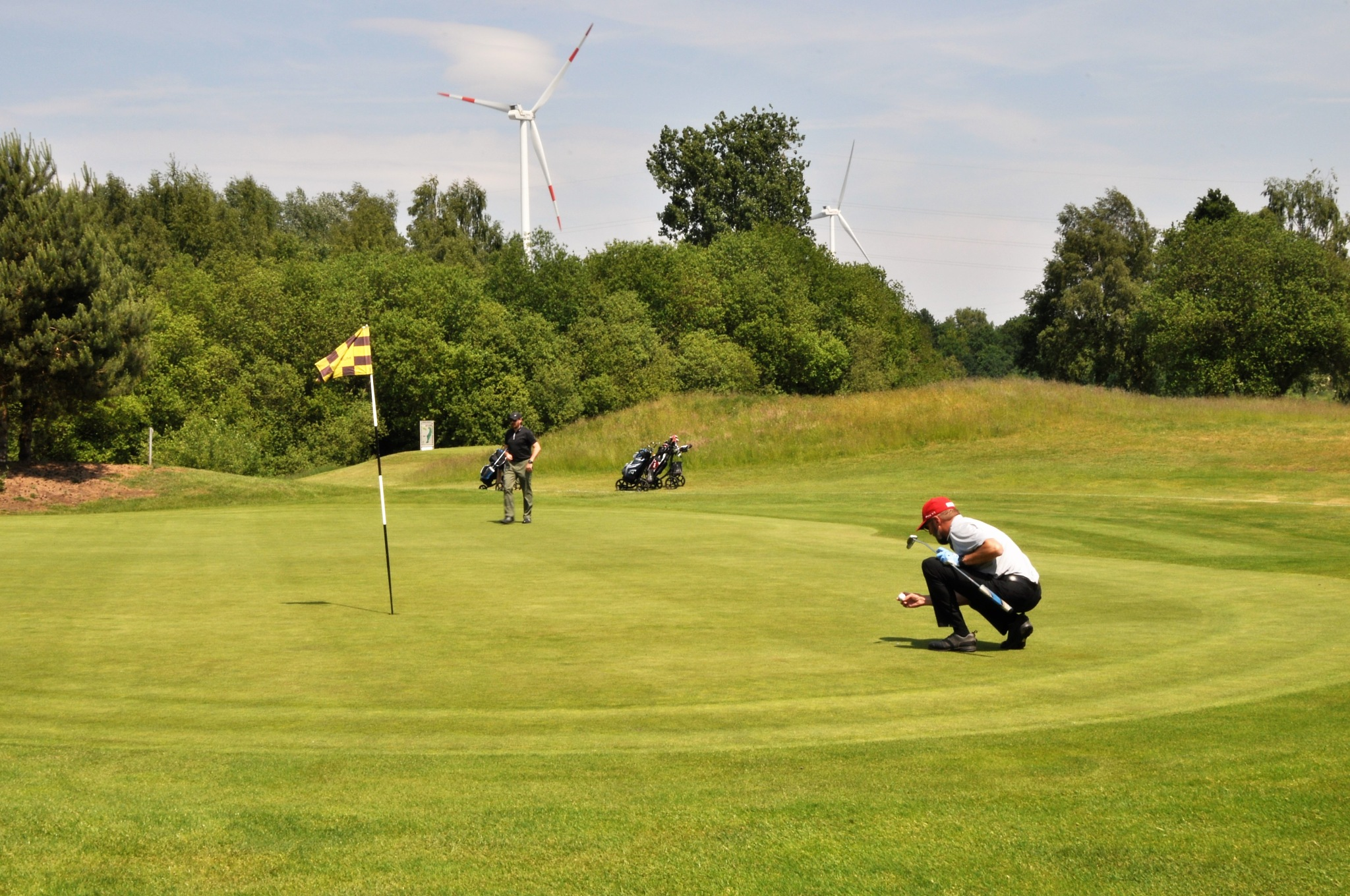 Millennium Golf Club Paal, Limburg, Belgium. Pebble beach Court by Rosario Di Rubbo