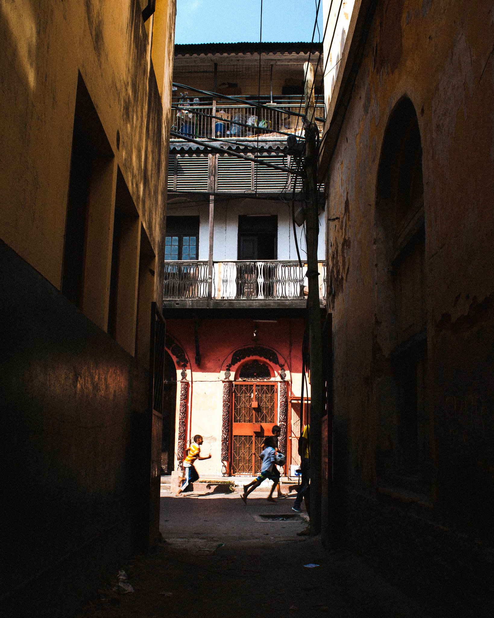 Dark Alleys by Tommie Ominde