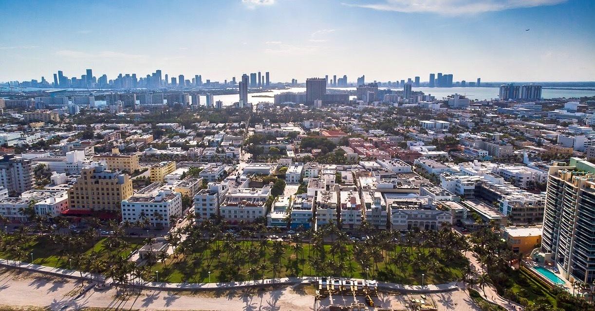 South Beach Skyline | Mavic Air by Miguel Ramos