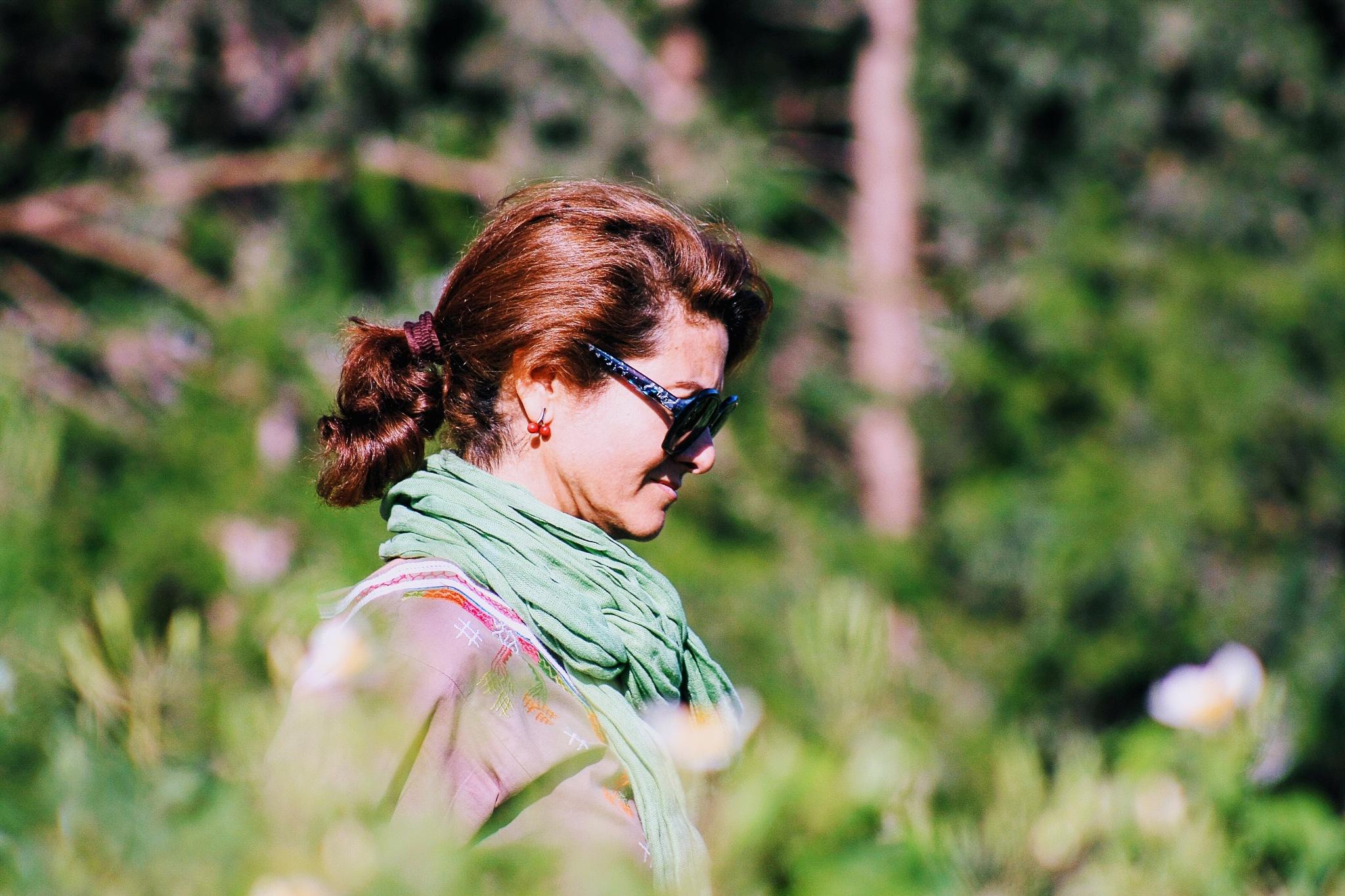 Lady In Focus  by houcemdean