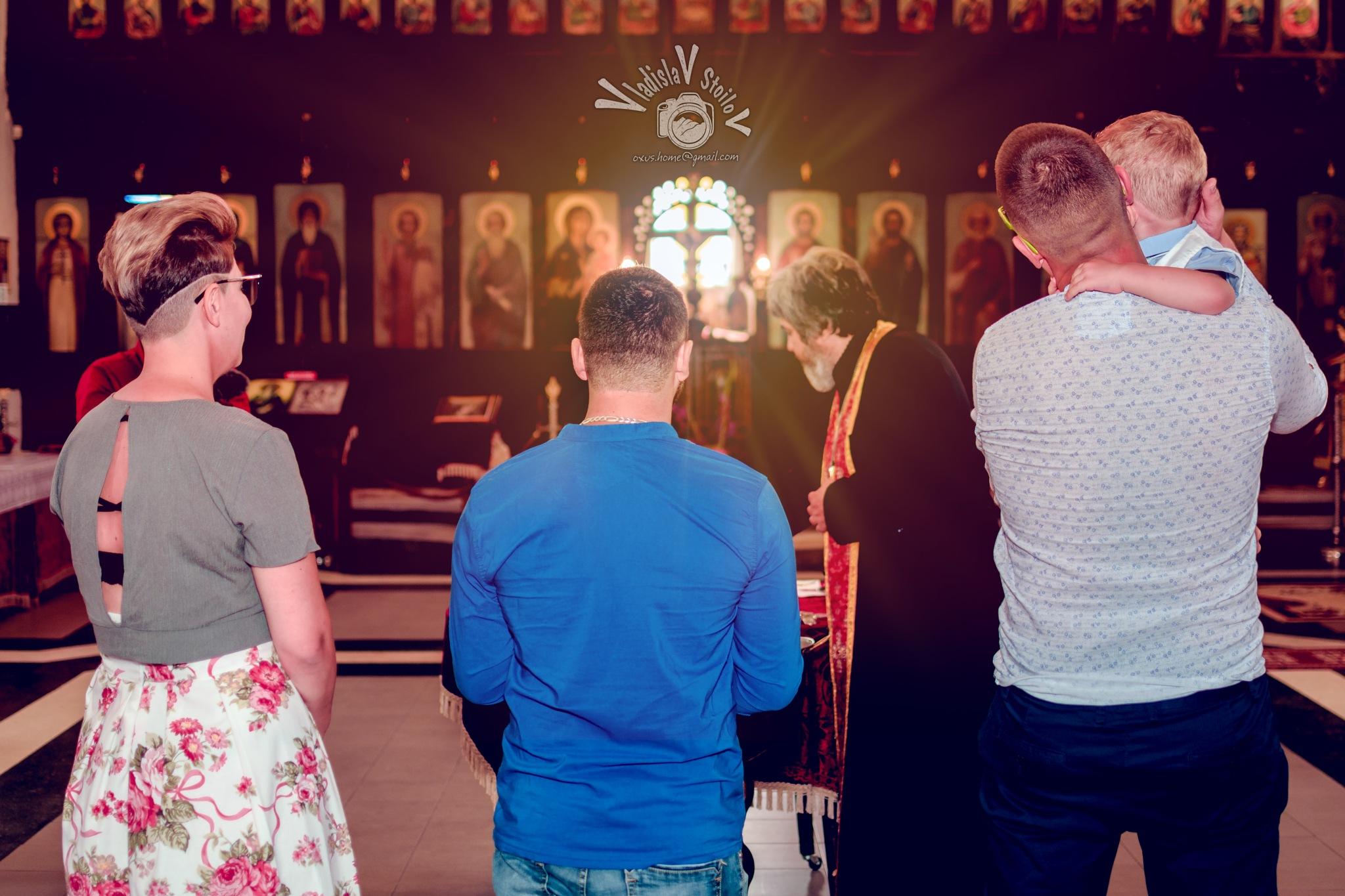 Christianity ritual  by Vladislav Stoilov