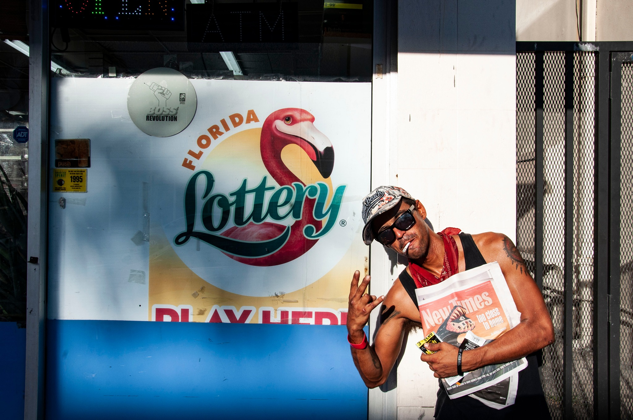 """""""Give me 1$ for a lottery ticket."""" by J. A. Requena Alcega"""