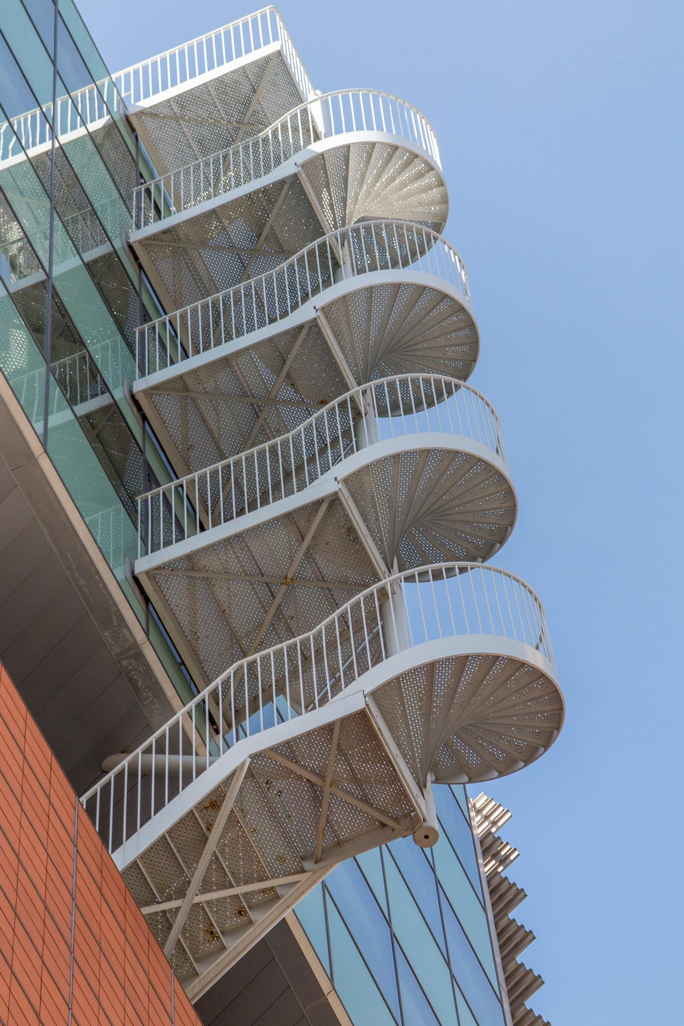 Stairs by Jos van der Zon