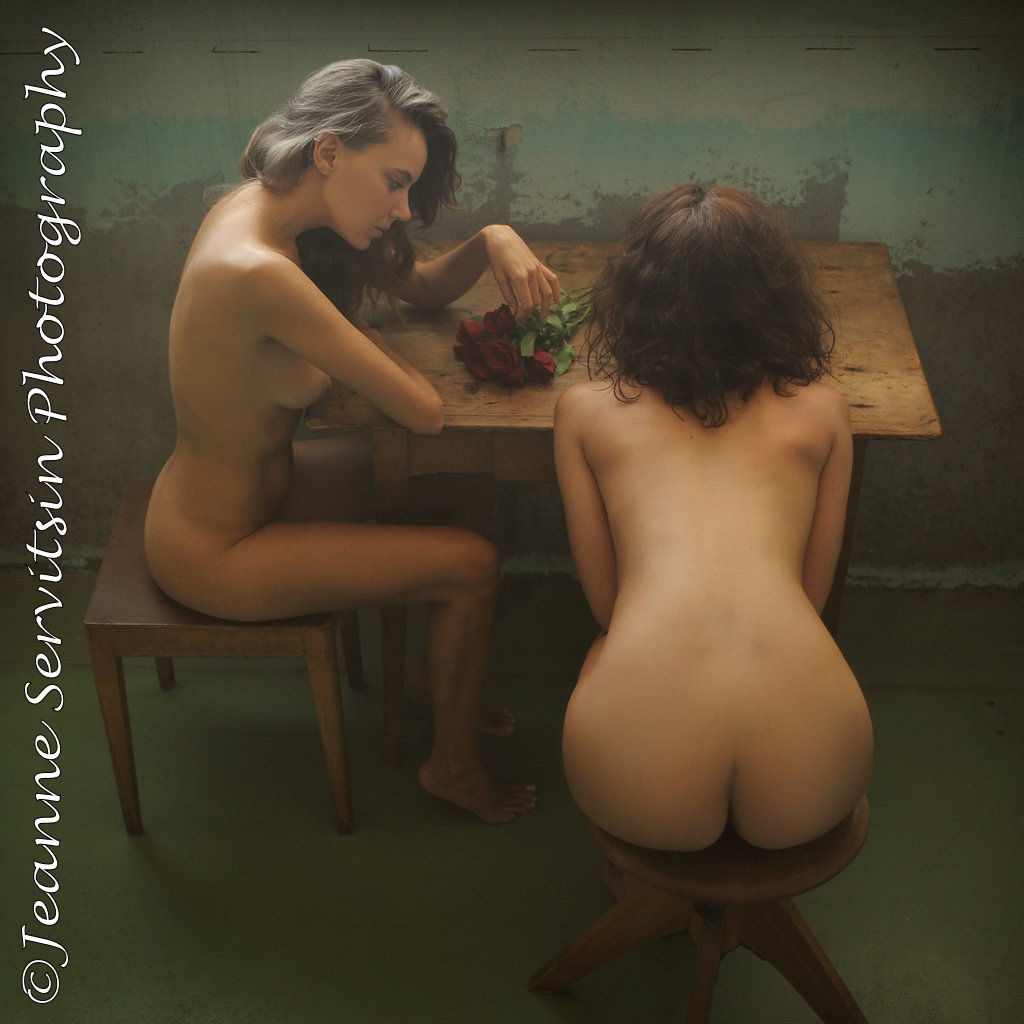 The Two Roses by NUDE ART STUDIO - Jeanne Servitsin