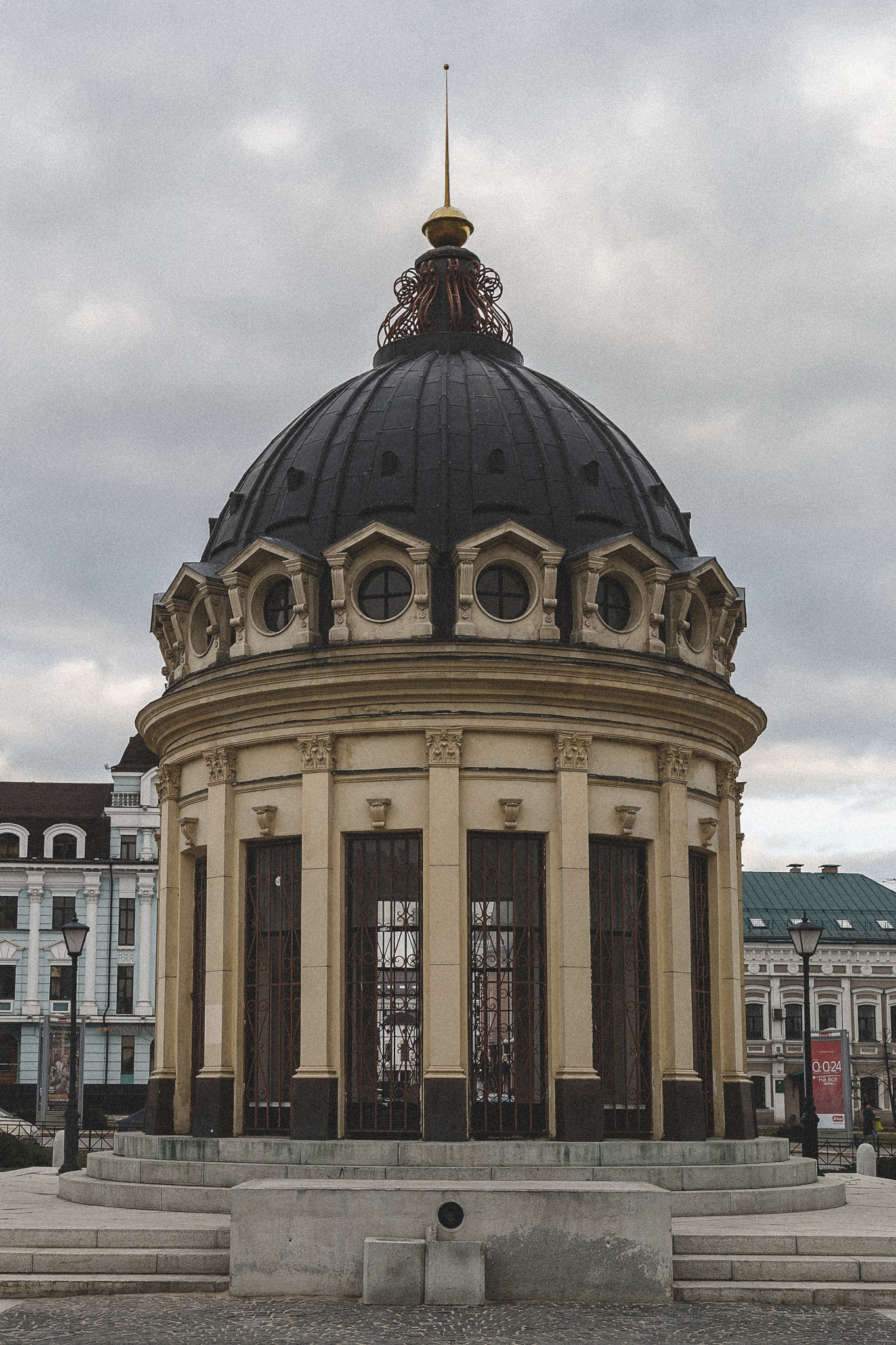 Rotunda on the Peterburgskaya Street by skboris