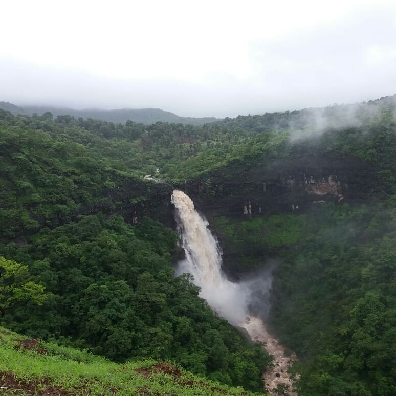 Dugarwadi waterfall by Sandeep Manbhav