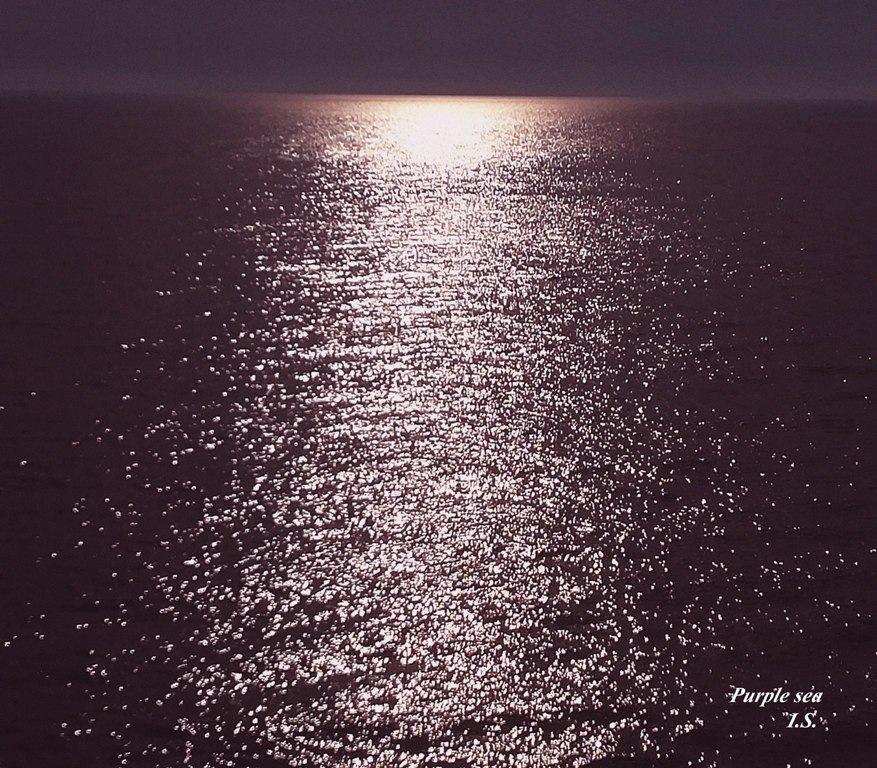Purple sea by IvanaKS