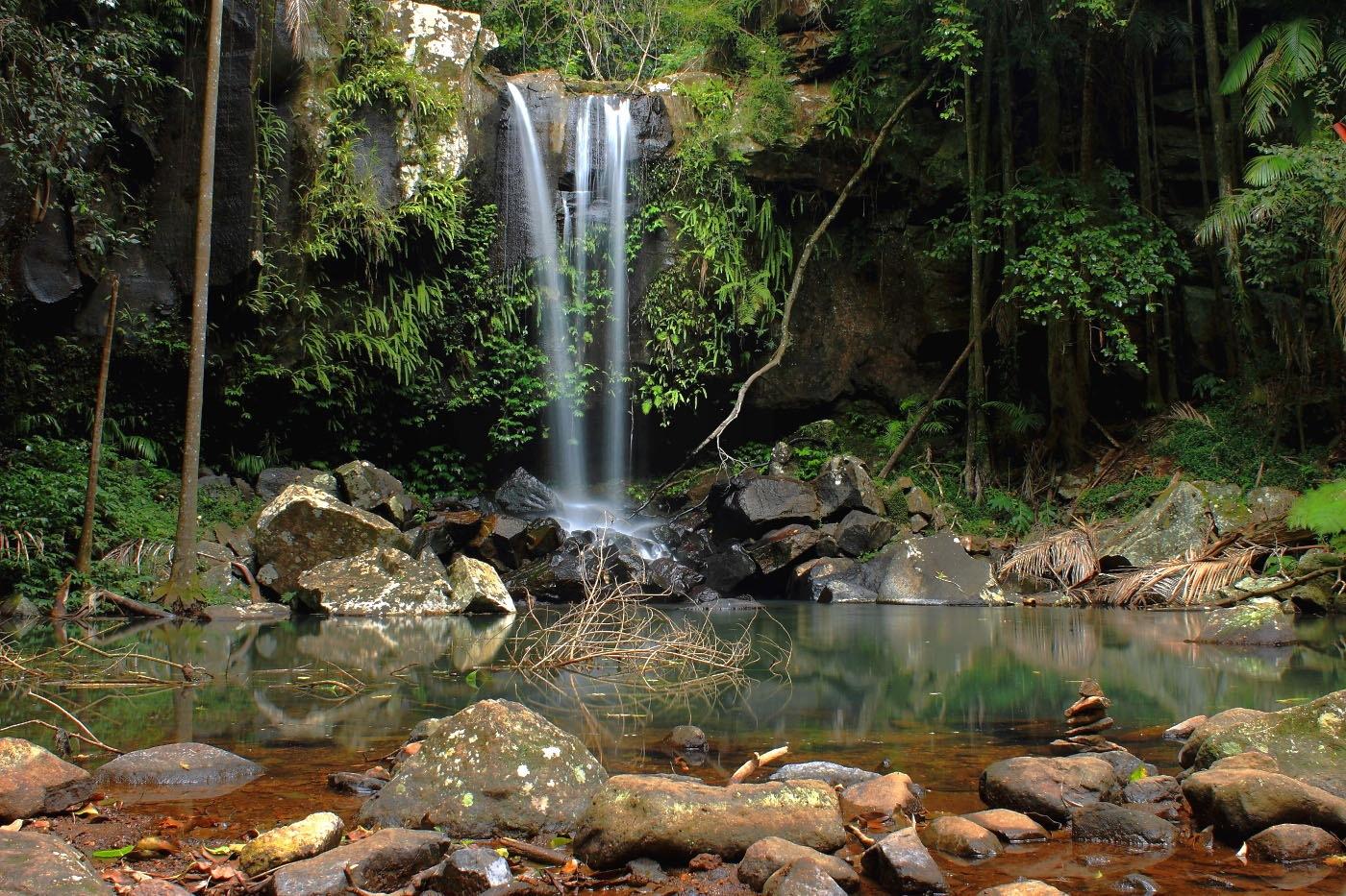 Chasing waterfalls by Petra S El