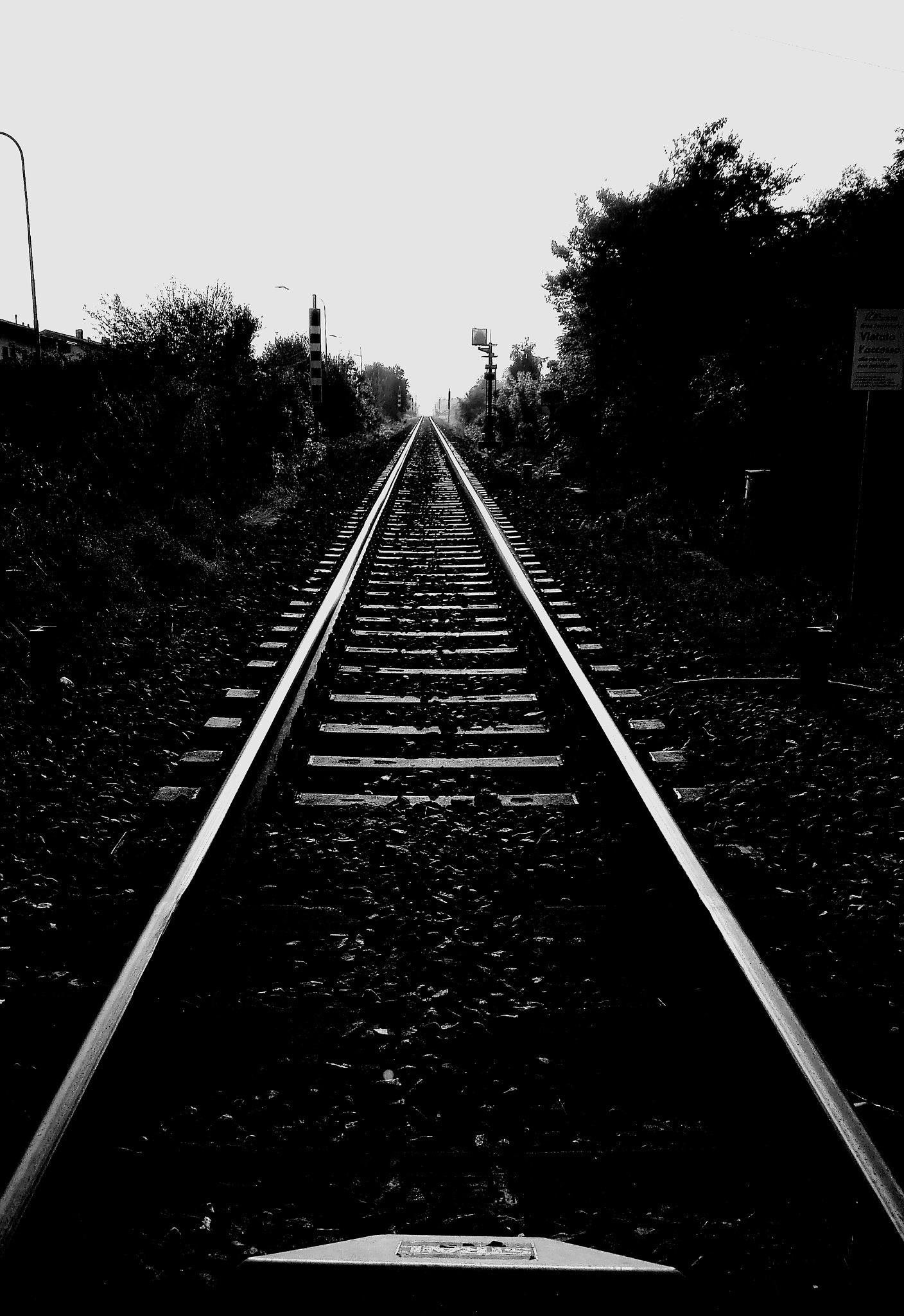 take a train to nowhere.... by  Gaelle Le Meur