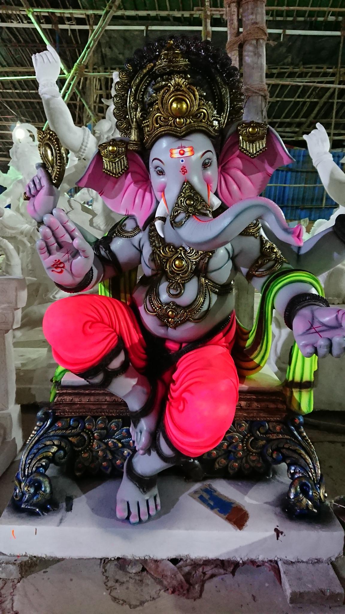 Elephant god by Karan Desai