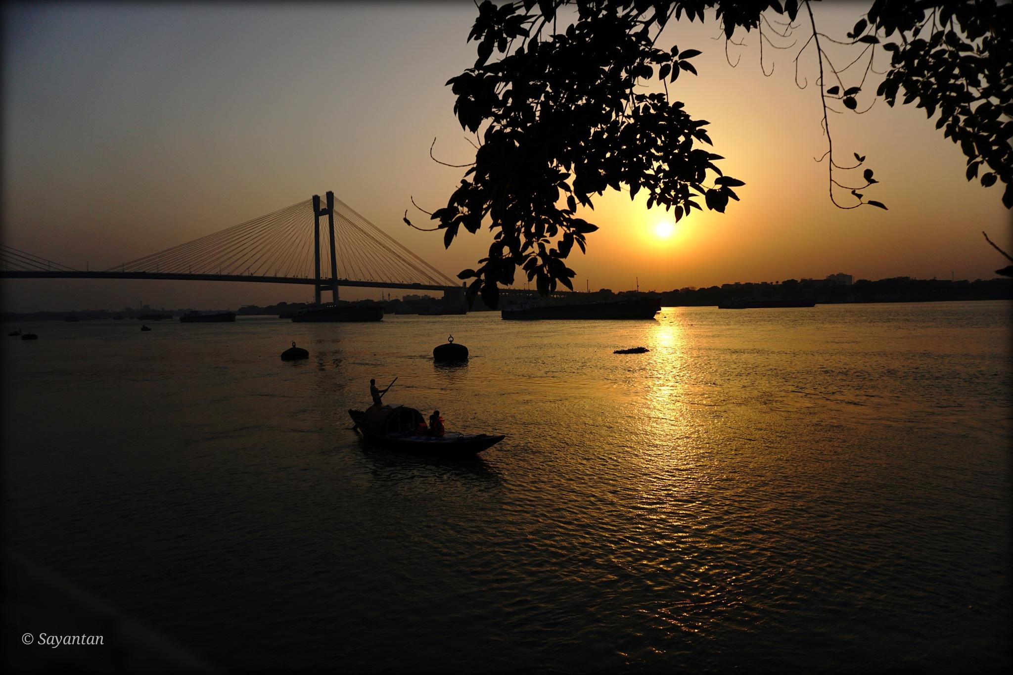 Sunsets by Sayantan Sarkar