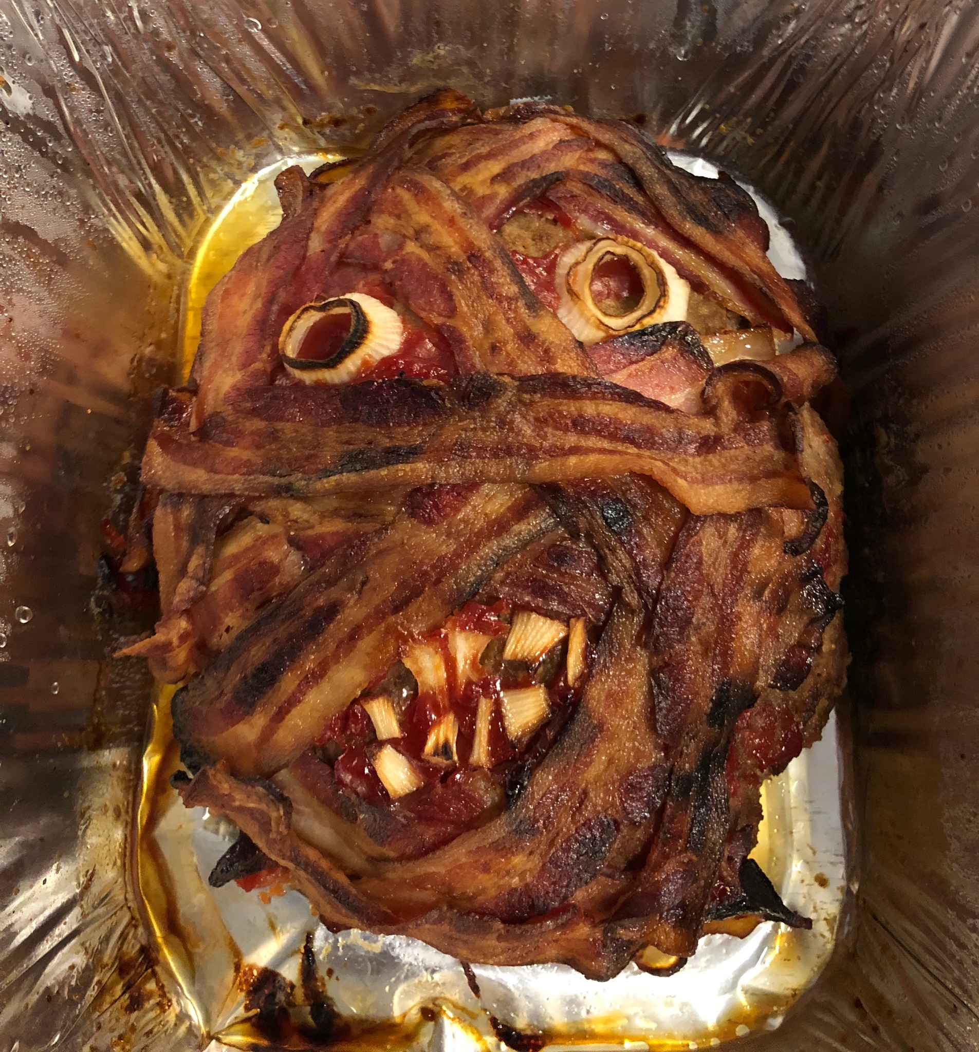 Mummy Meatloaf  by Allison A Lahache