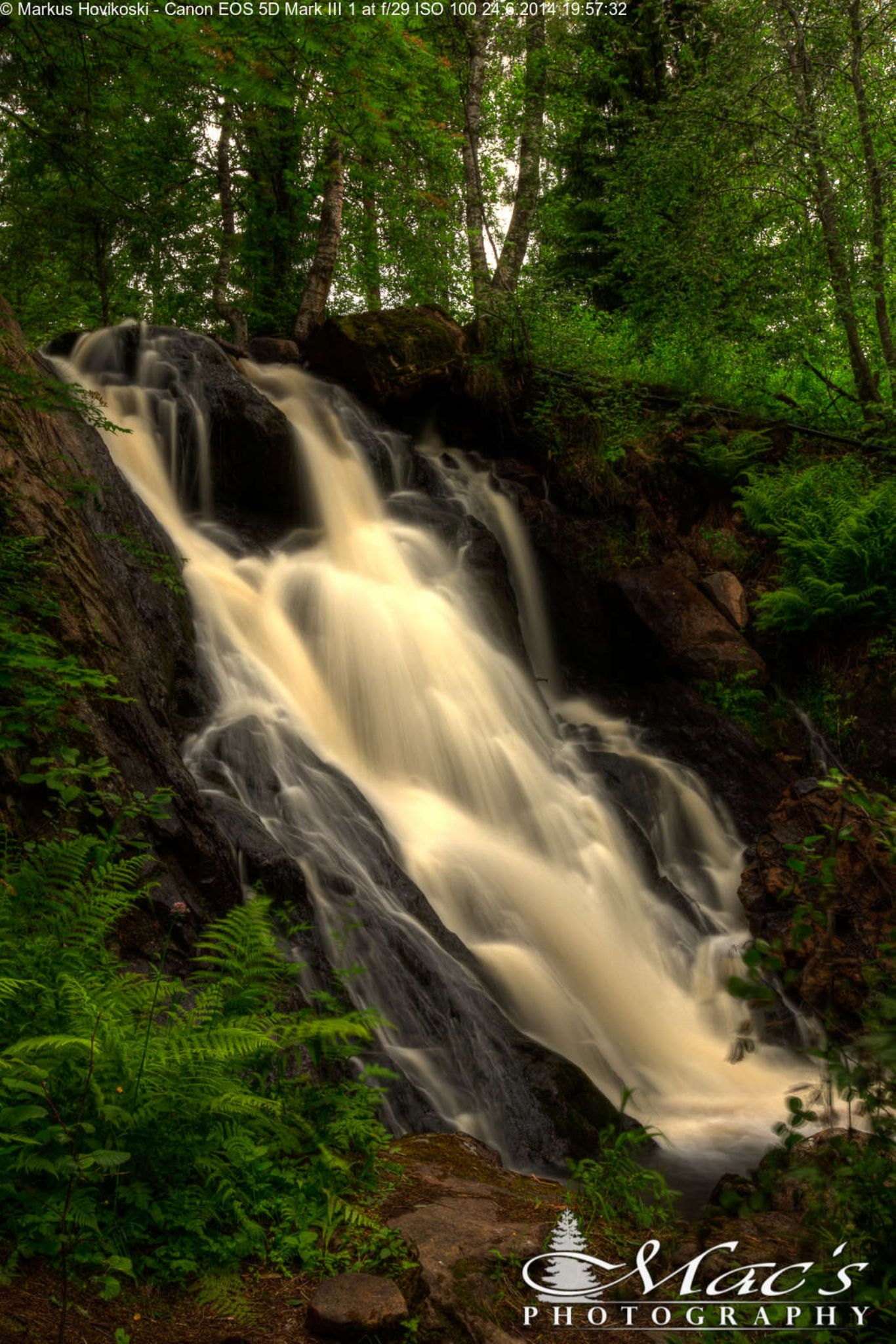 Waterfall by Mac's Photography
