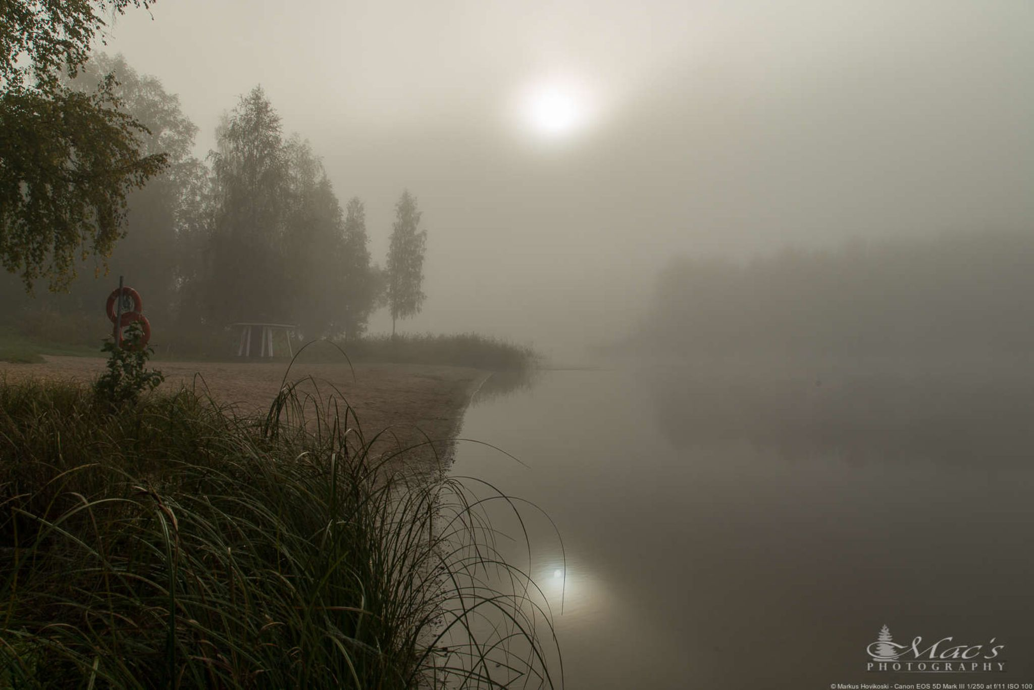 Foggy landscape by Mac's Photography