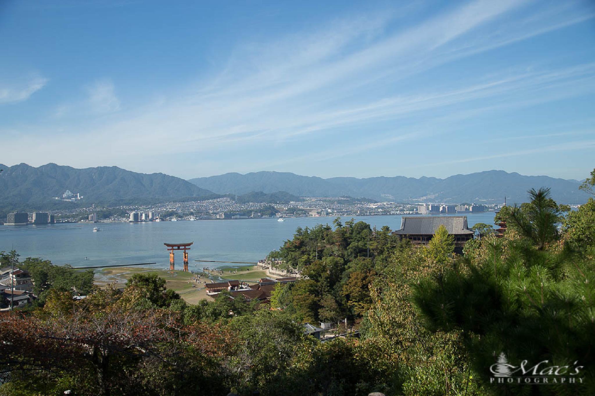 Itsukushima Shrine by Mac's Photography