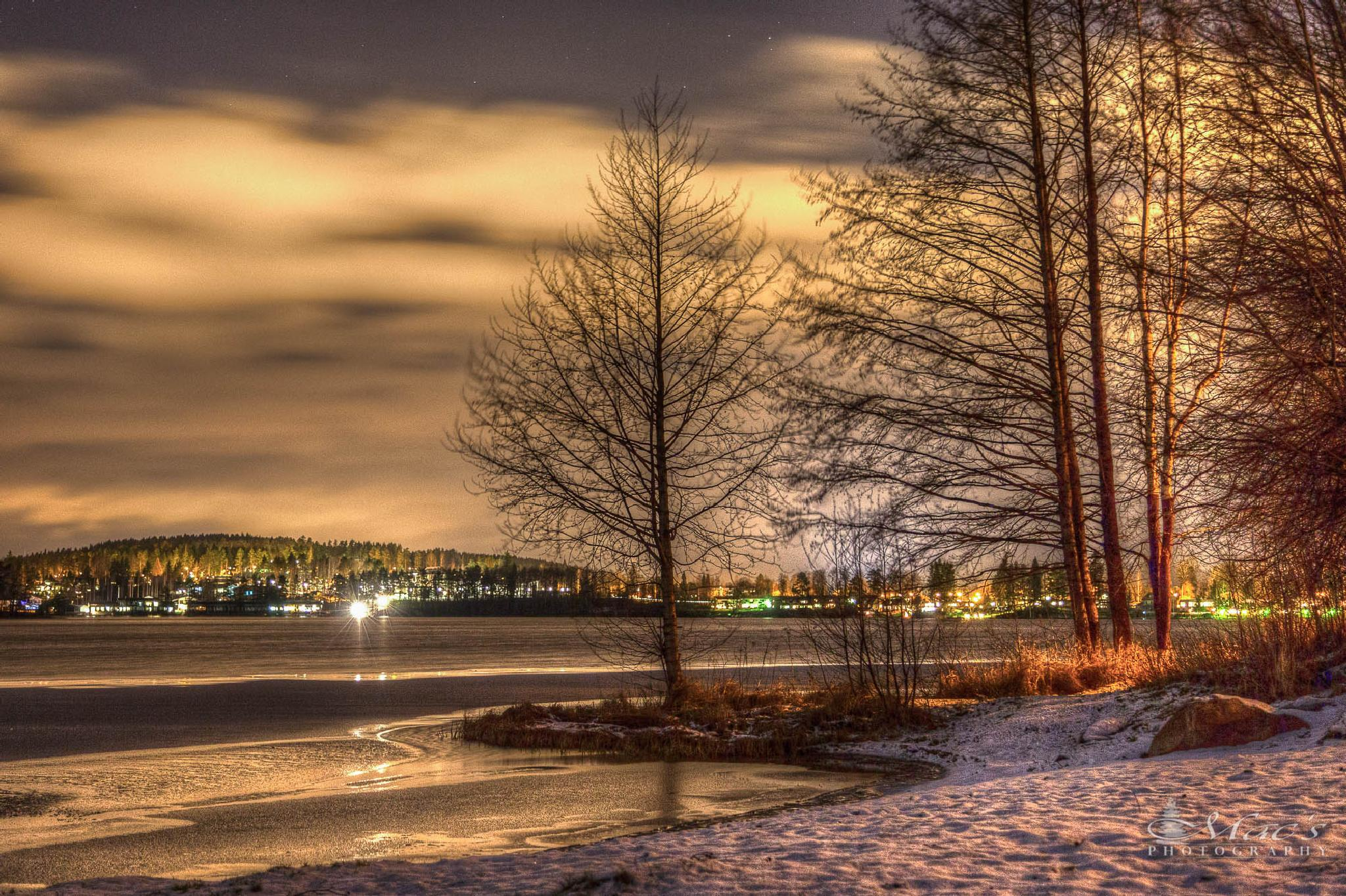 Winter cityscape by Mac's Photography