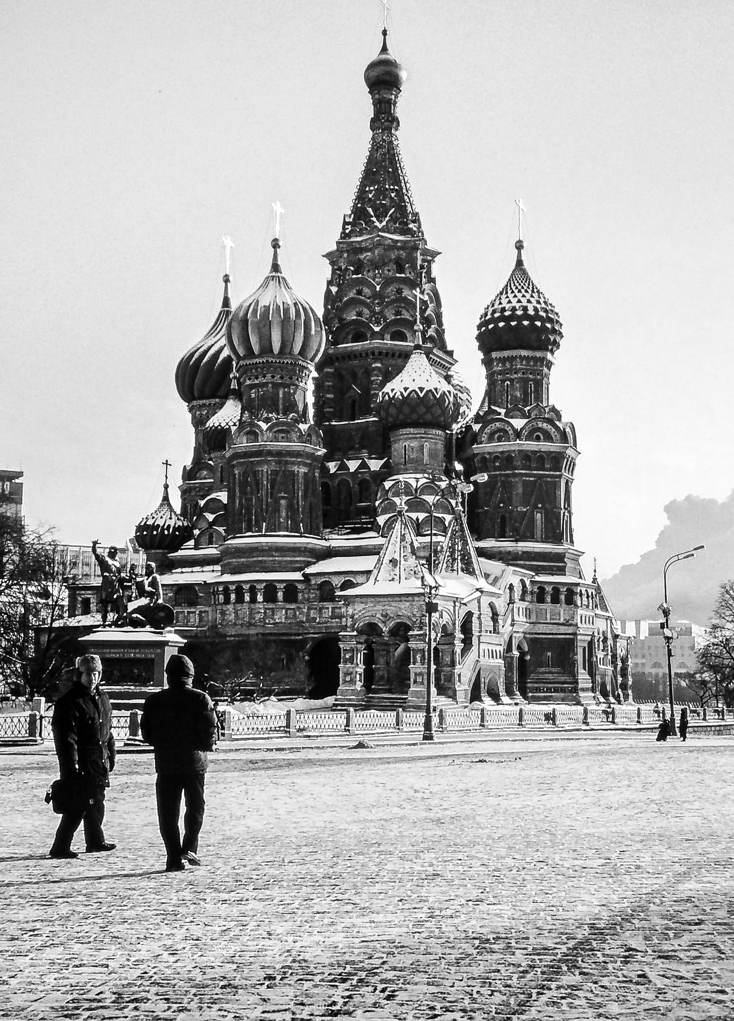 St Basil's Cathedral, Red Square by Douglas Burch