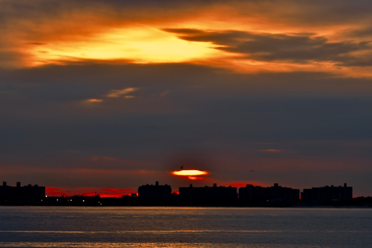 Sunrise over Brooklyn  by Nurul Amin