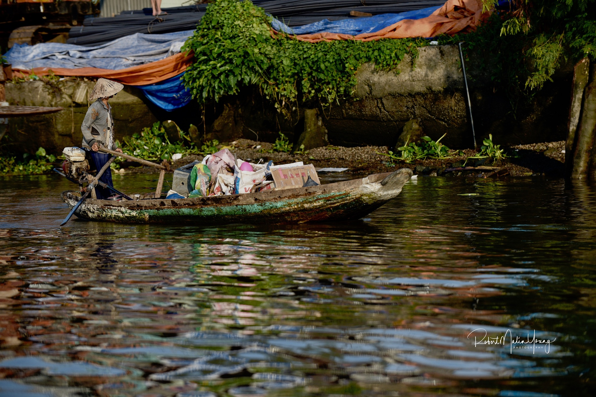Up the Mekong - Viet Nam 2018 by Robert Malin Young