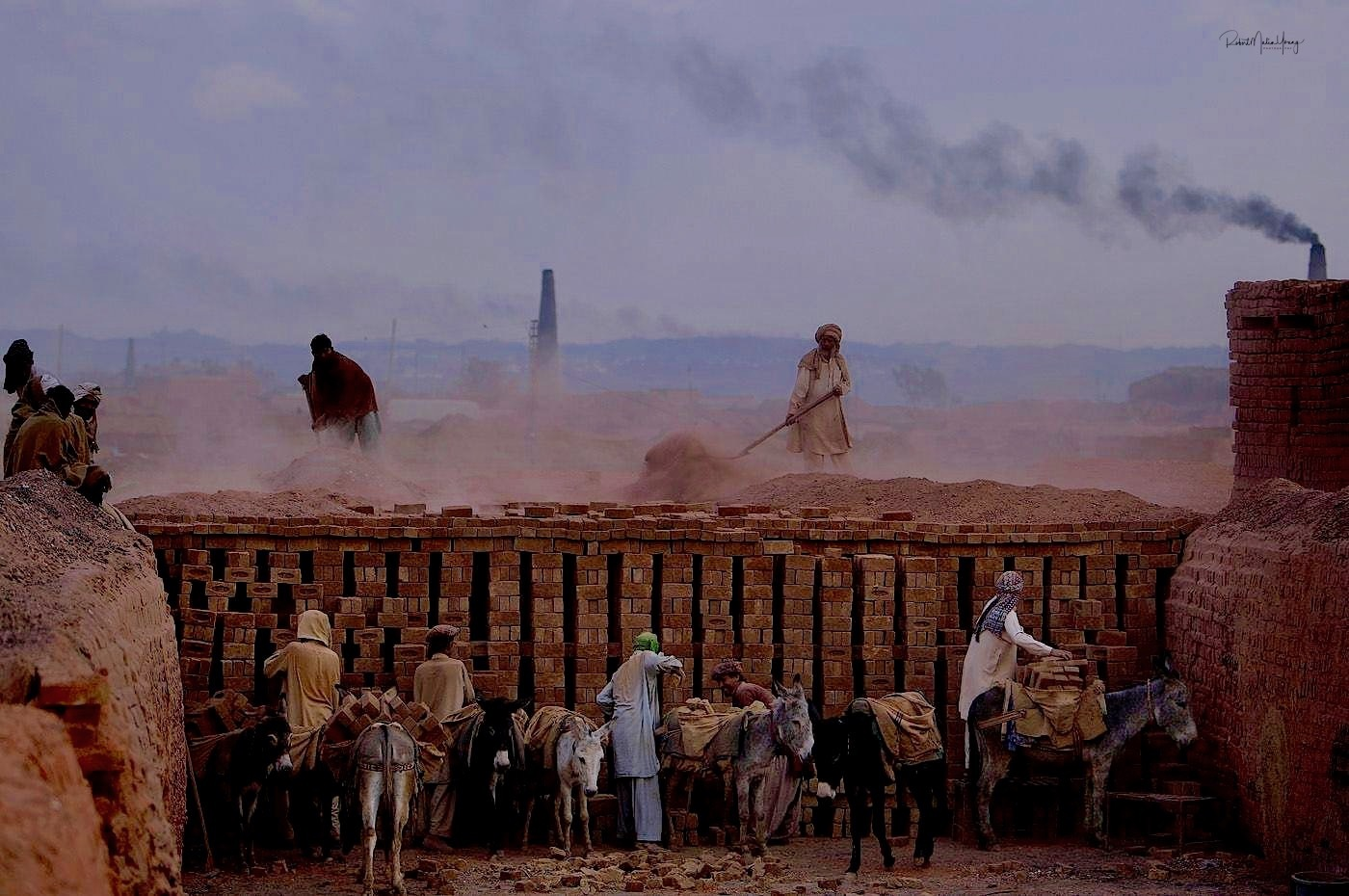 Afghanistan brick works - 2018 by Robert Malin Young