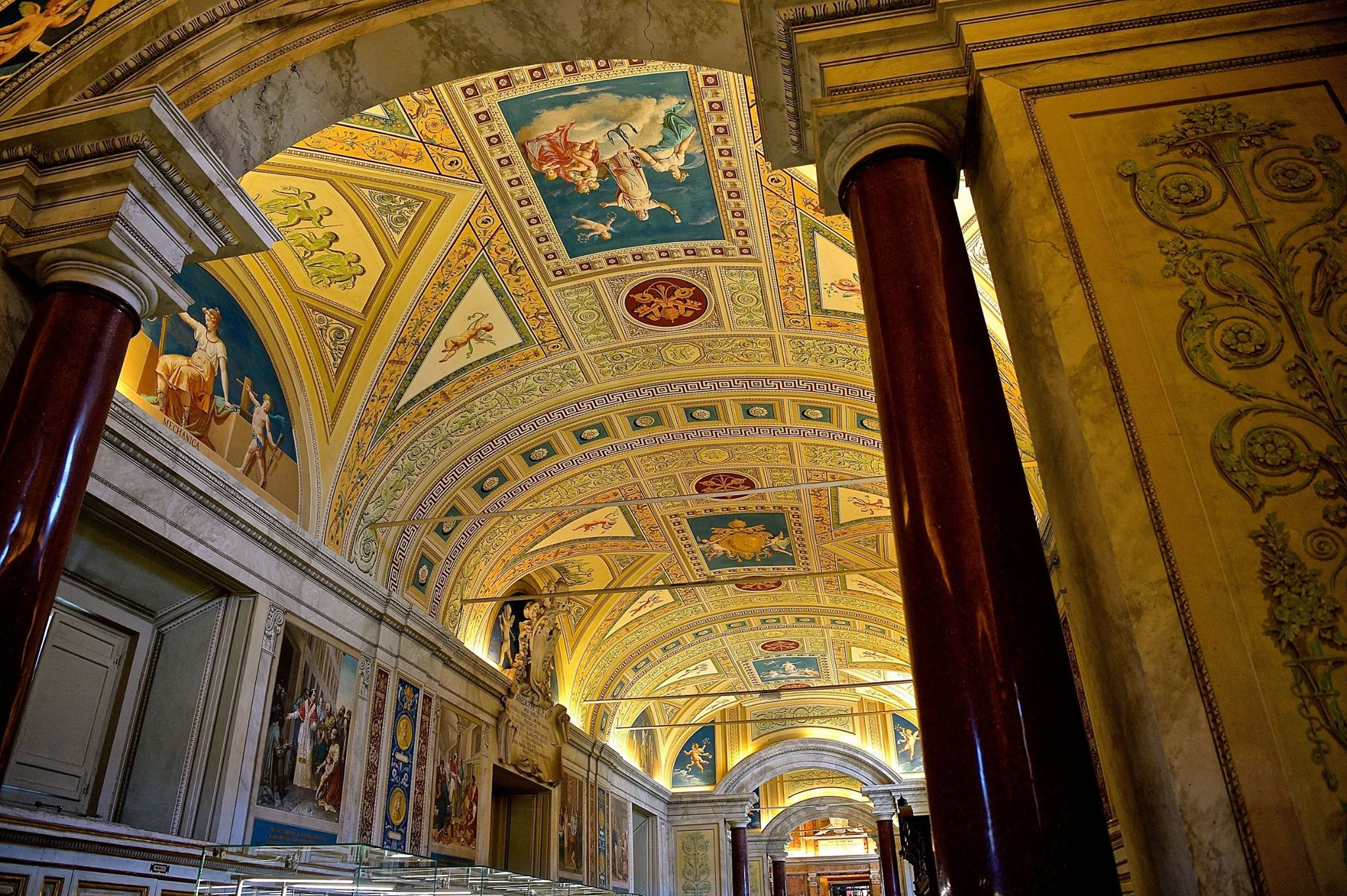 Roma Vatican museum 2018 by Robert Malin Young