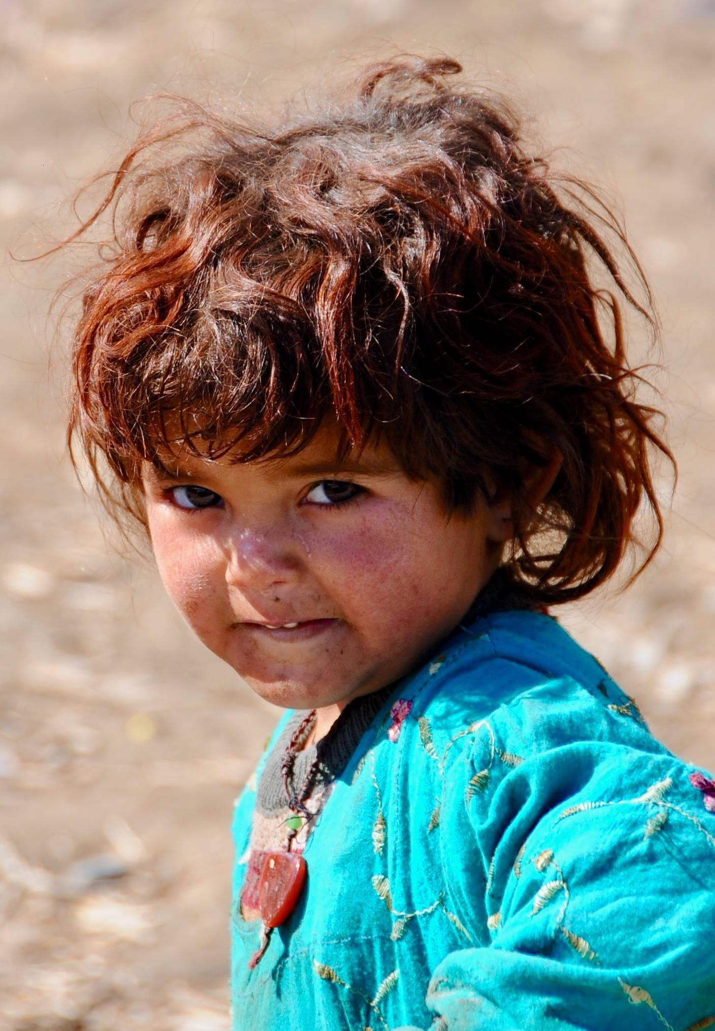 Afghan child - Bamiyan 2018 by Robert Malin Young