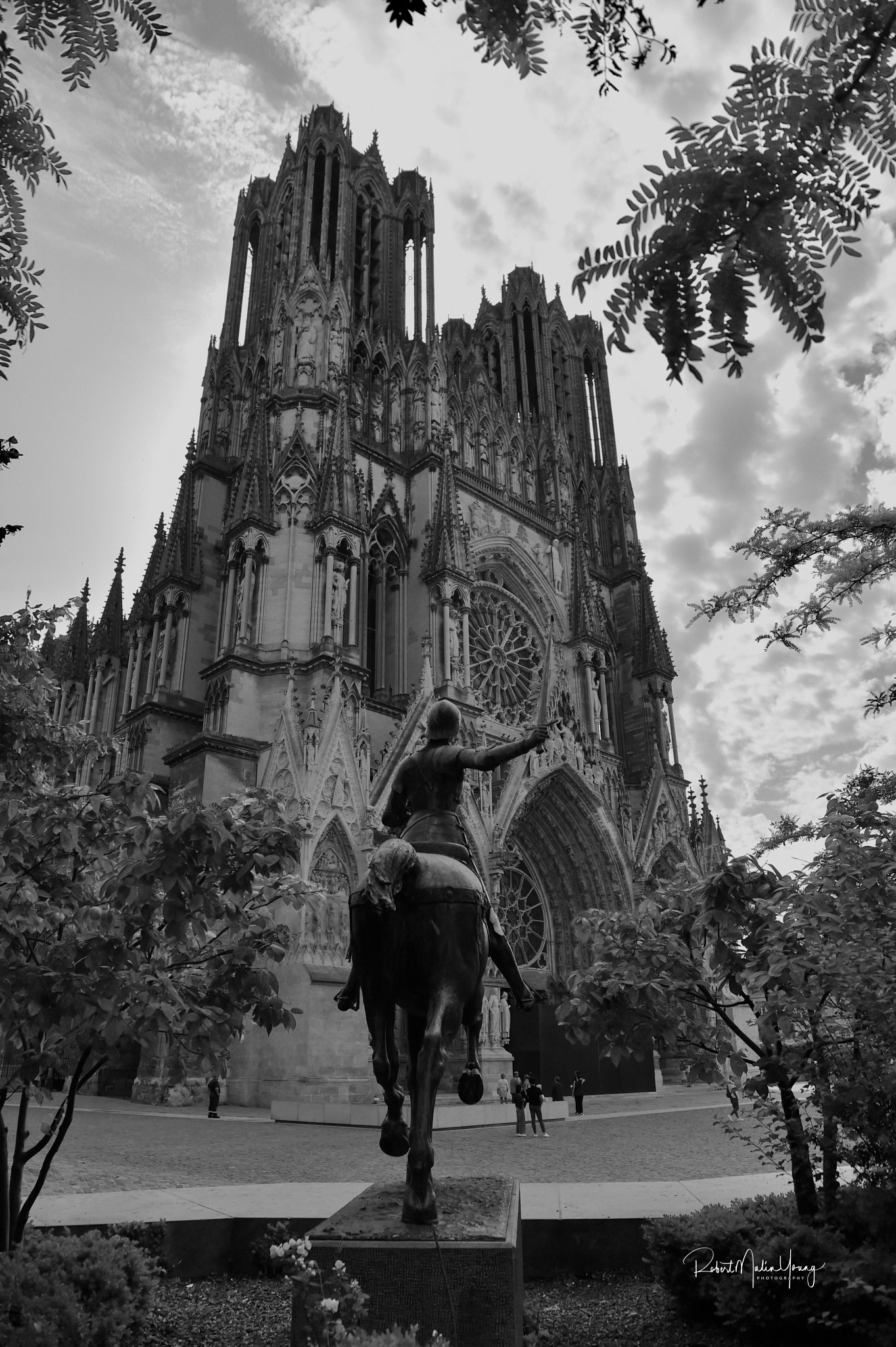 The great Cathedral of Reims - France 2018 by Robert Malin Young