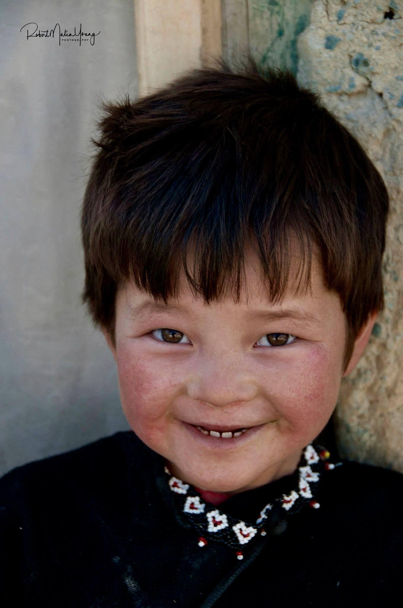 Young Hazari  boy - Afghanistan 2018 by Robert Malin Young