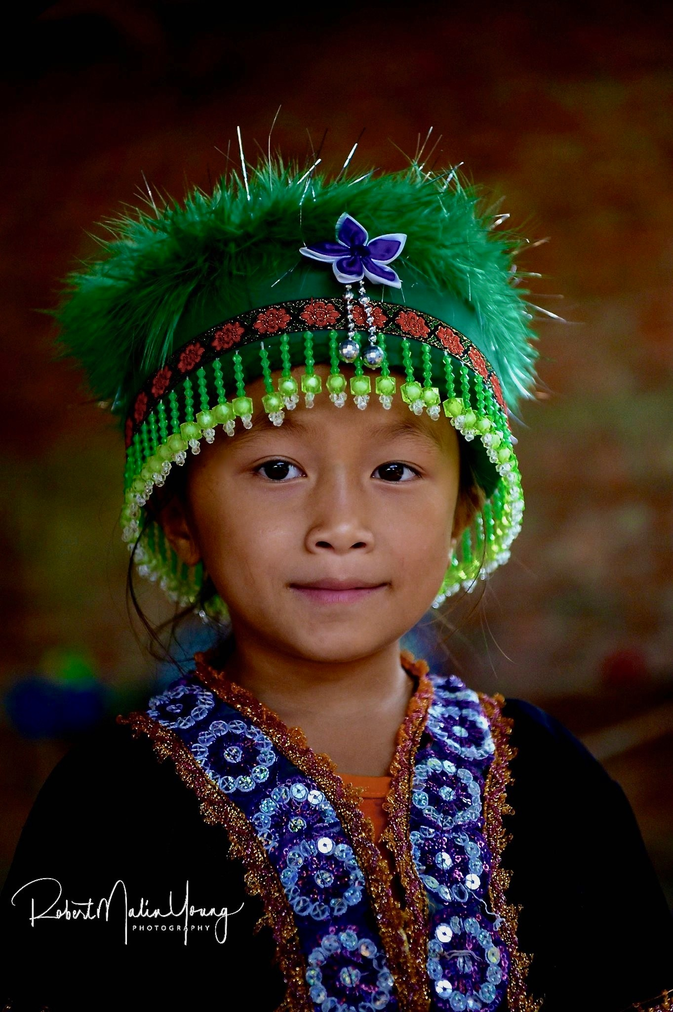 The soft beauty of the hill tribe children - Laos 2019 by Robert Malin Young