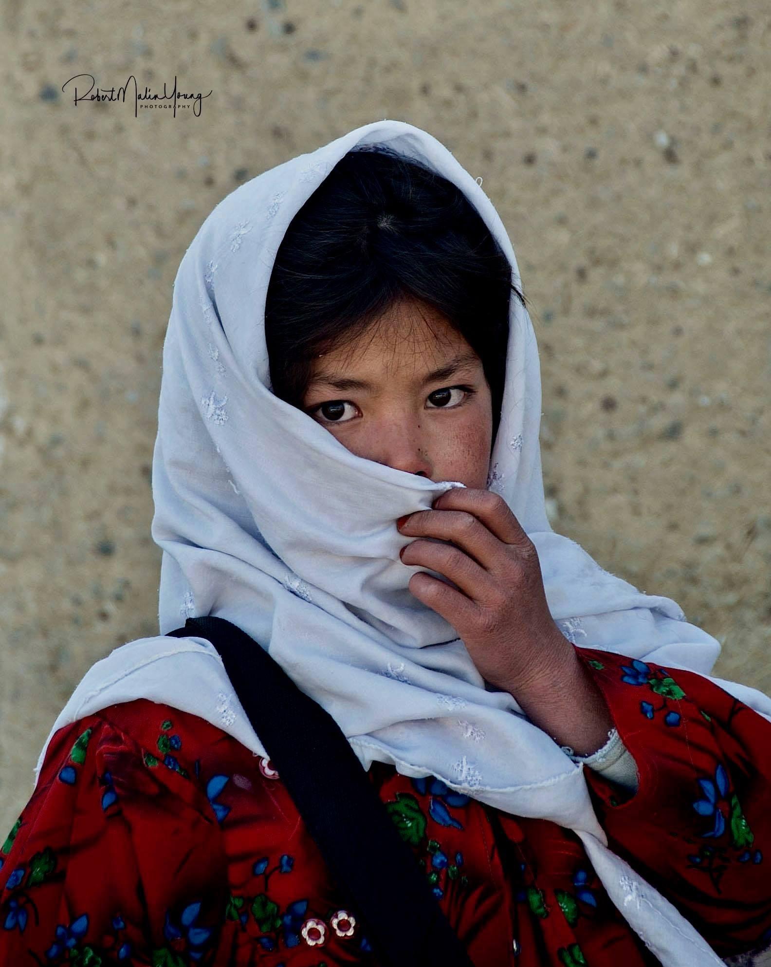 Hazari girl - Bamiyan Afghanistan 2018 by Robert Malin Young