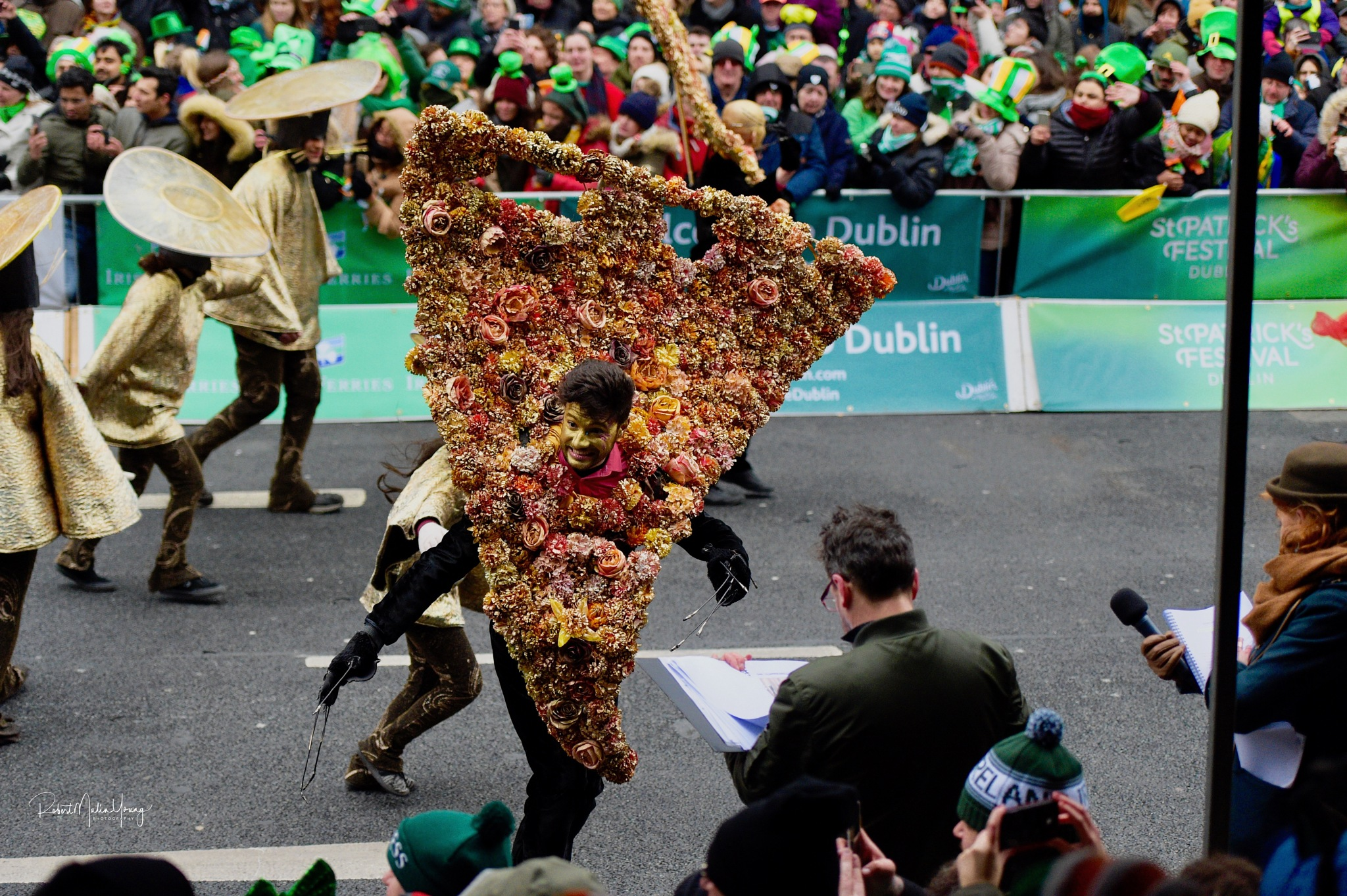 Dublin - Saint paddy's Day - 2017 by Robert Malin Young