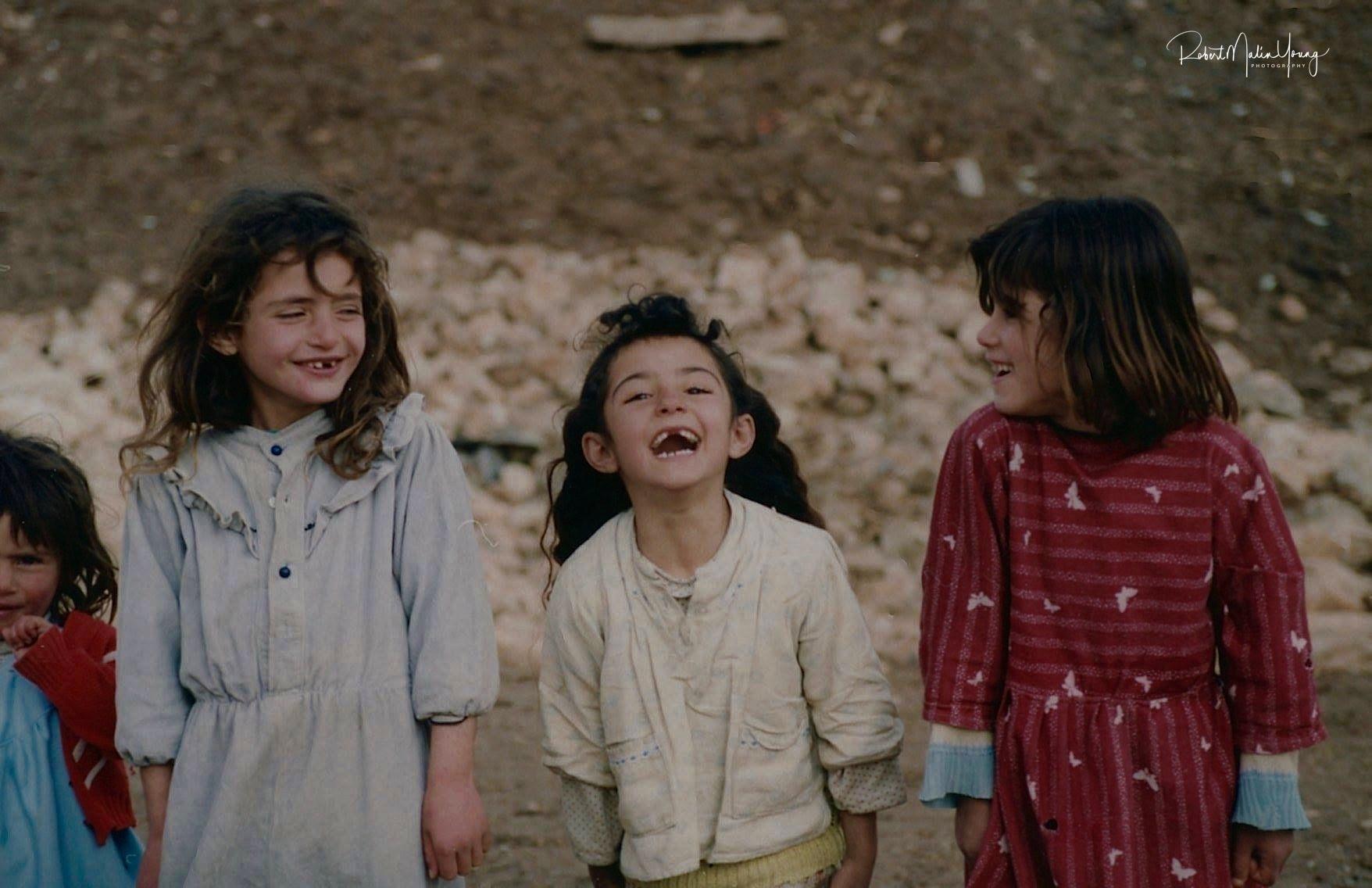 Kurdish children and Kurdistan, Iraq1992 by Robert Malin Young