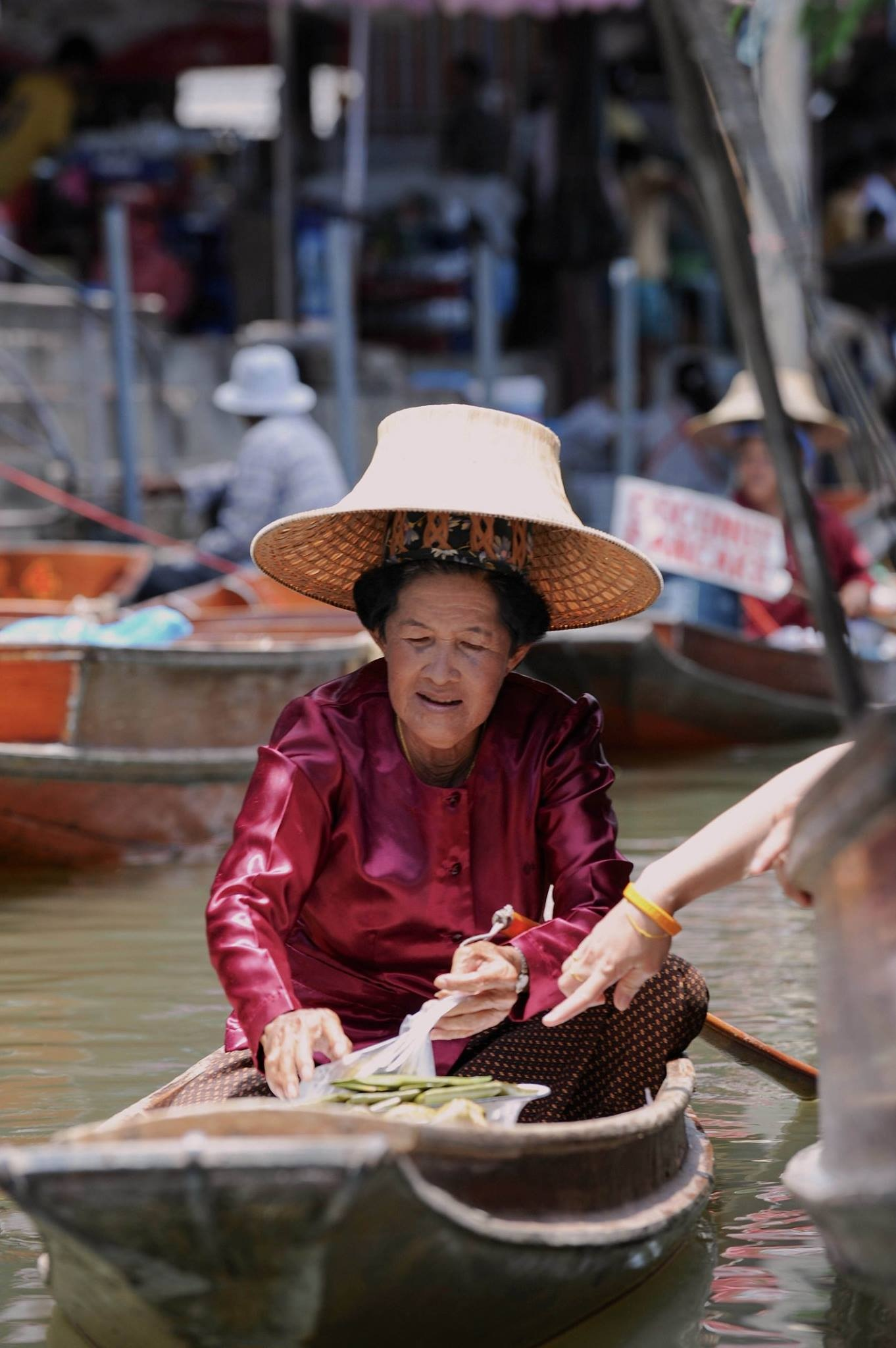 Floating market - Thailand 2017 by Robert Malin Young