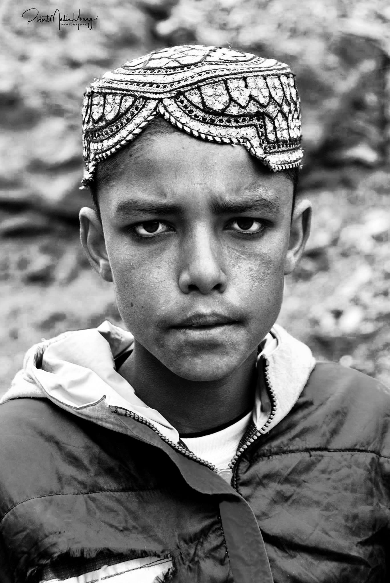 Afghan boy 2018 by Robert Malin Young