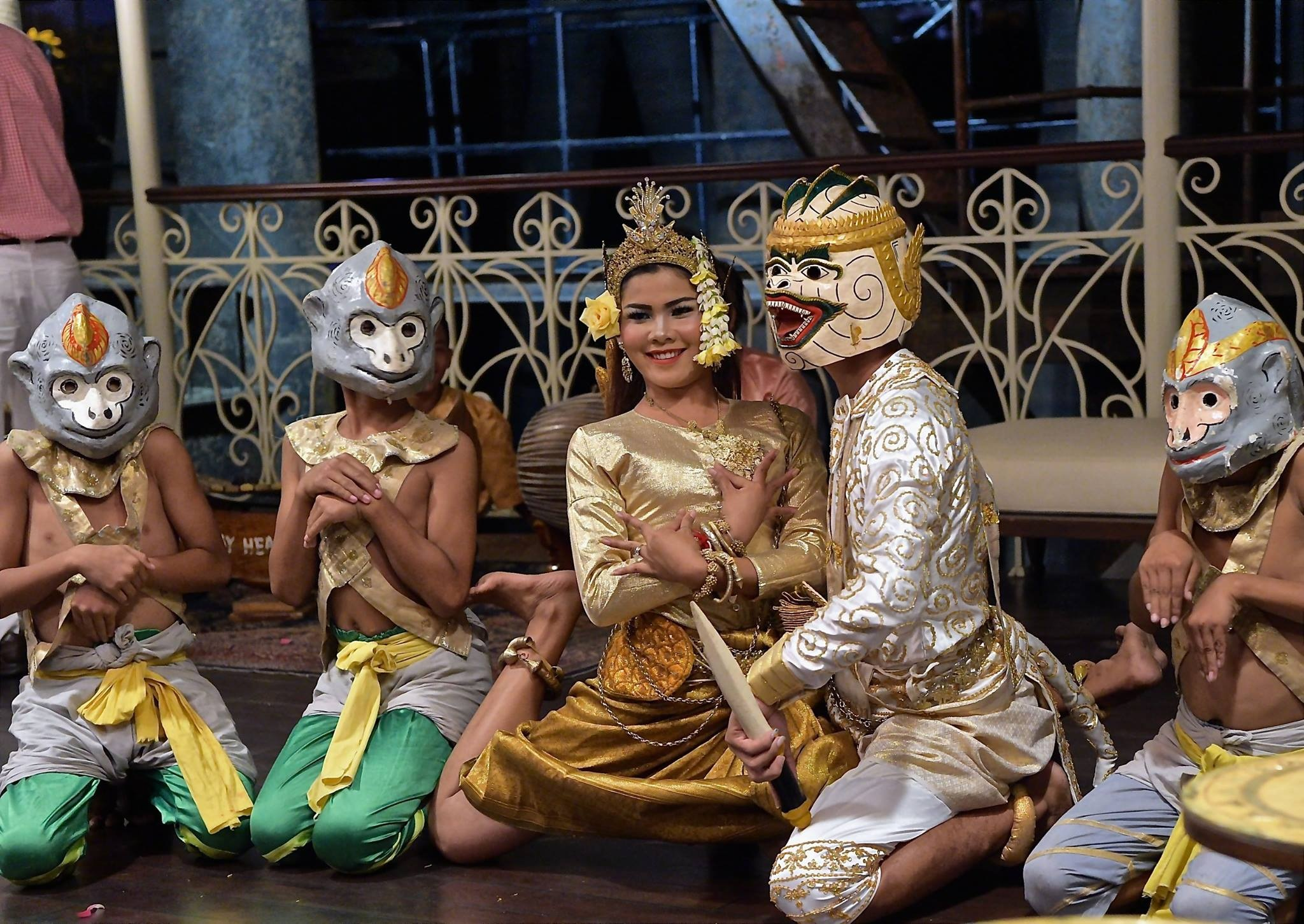 Cambodian dancers 2018 by Robert Malin Young