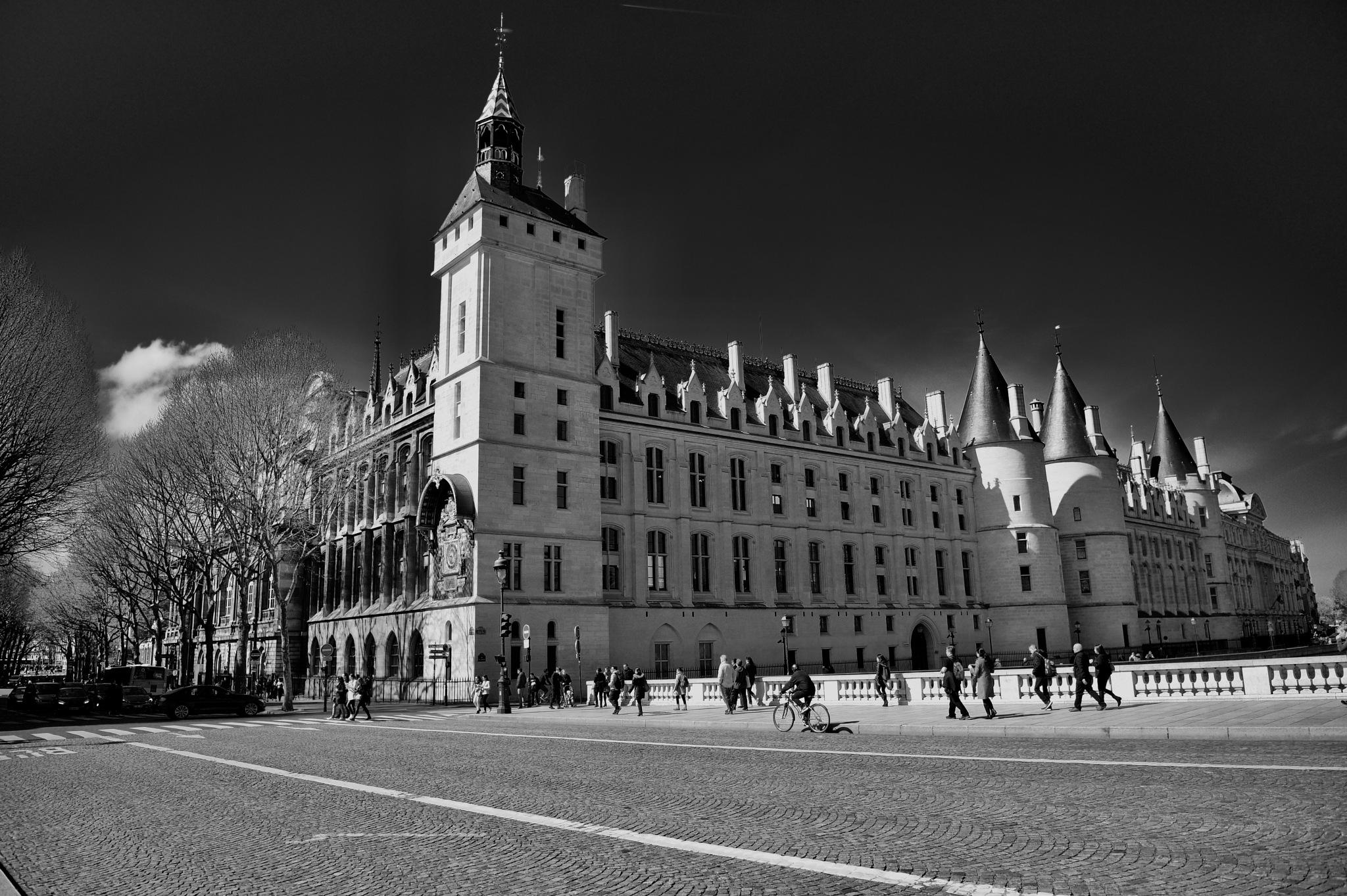 Views of Paris - B&W 2018 by Robert Malin Young